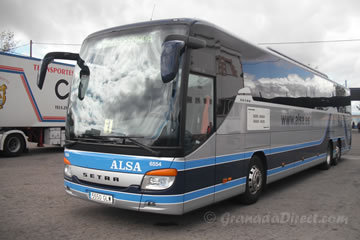 Alsa paga trece millones de euros por Transportes Rober, concesionaria del transporte urbano de Granada