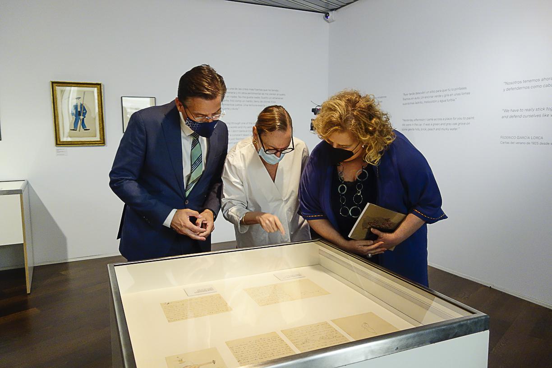 El Centro Lorca muestra en una exposición la amistad del poeta con Benjamín Palencia