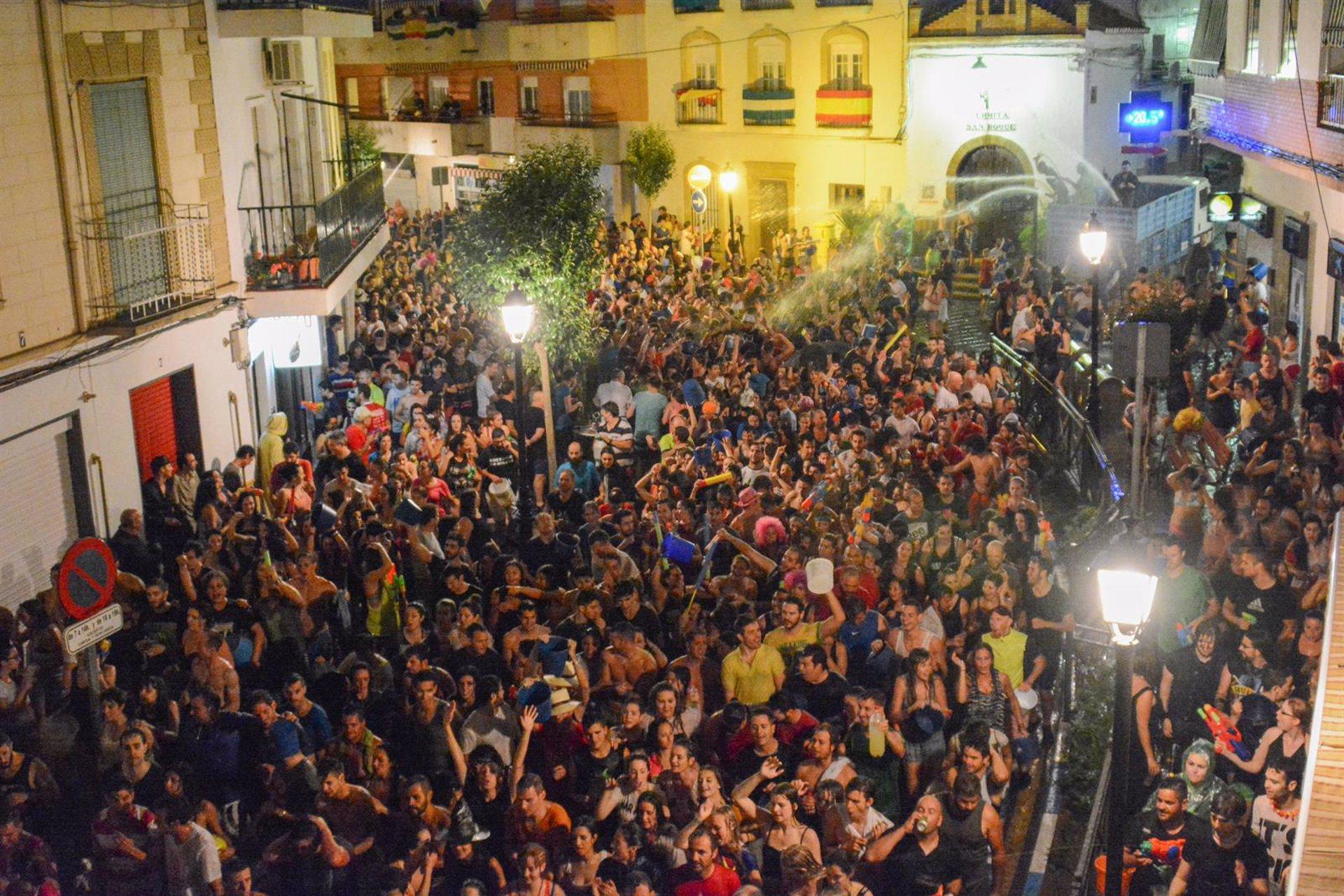 Lanjarón se queda este año también sin Fiesta del Agua