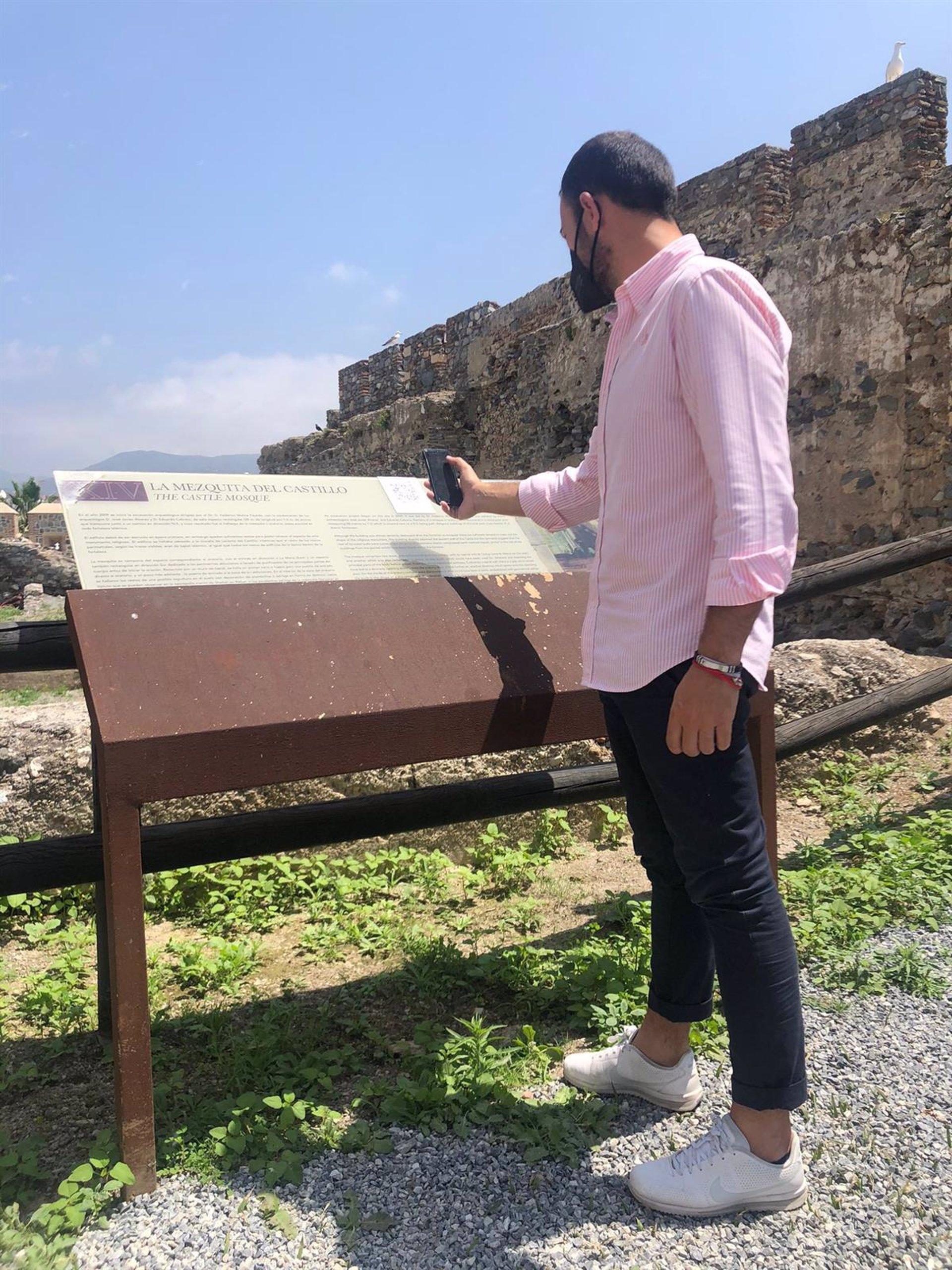 Almuñécar inicia la digitalización de su patrimonio monumental por el Castillo de San Miguel