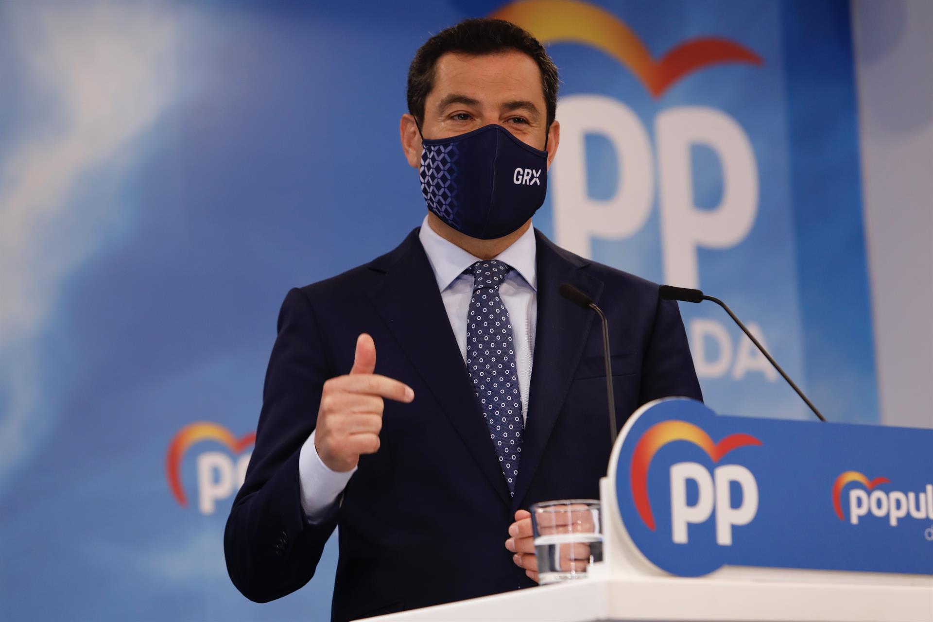 PP ganaría en Andalucía con 12,3 puntos sobre el PSOE y cerca de la mayoría absoluta, según un sondeo