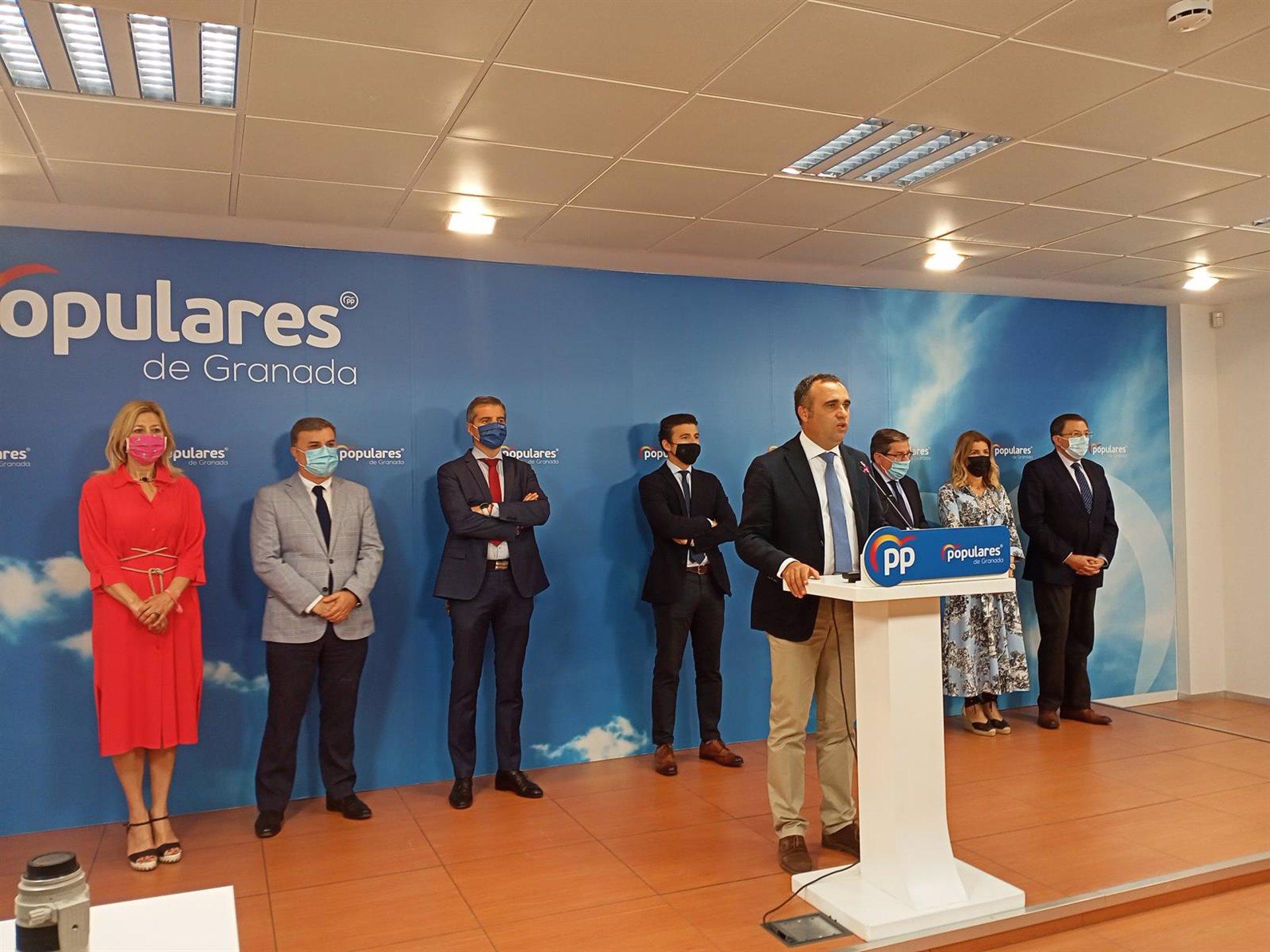 El PP abandona el gobierno local de Granada tras la negativa de Salvador (Cs) a dimitir como alcalde