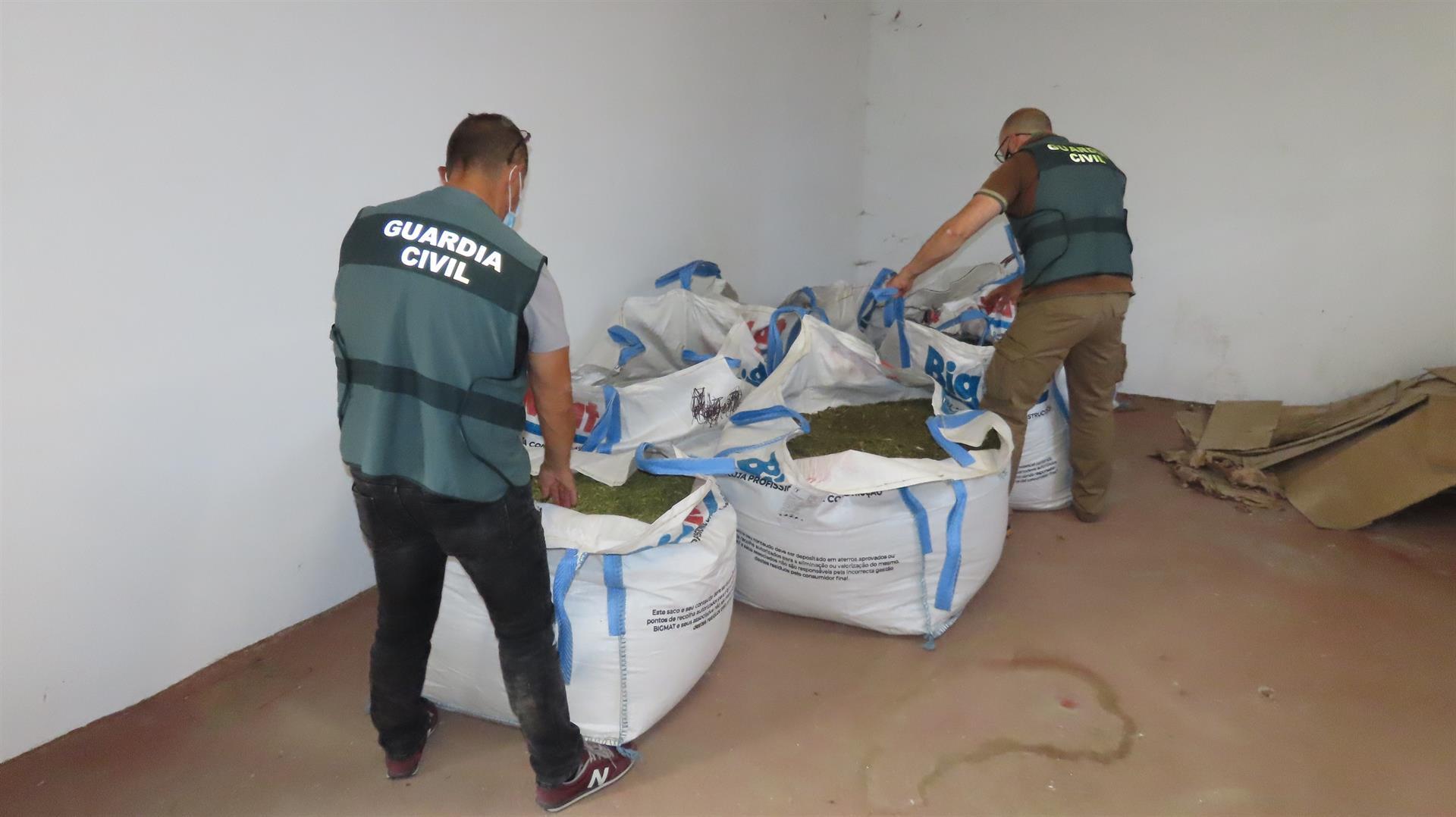 Intervenidos 349 kilos de marihuana que iba destinada a Polonia
