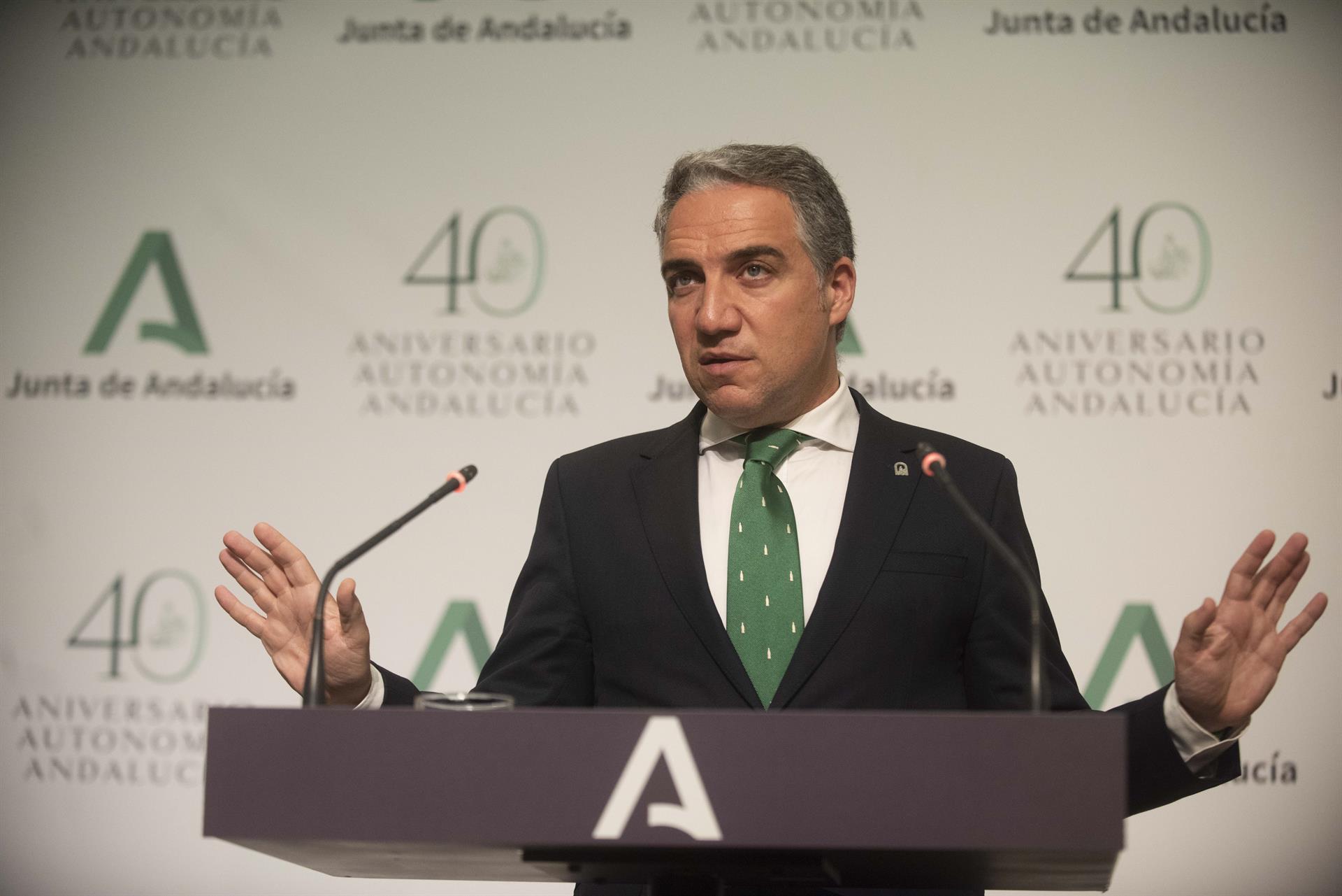 Bendodo defiende que el pacto PP-Cs en la Junta «goza de muy buena salud» tras la ruptura del gobierno local de Granada