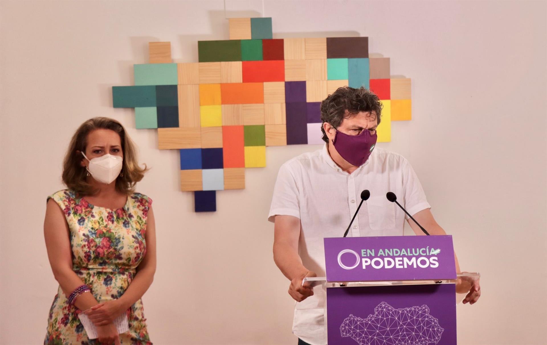 Podemos considera que el PSOE-A tiene ahora la oportunidad de dar «un vuelco progresista» a su proyecto