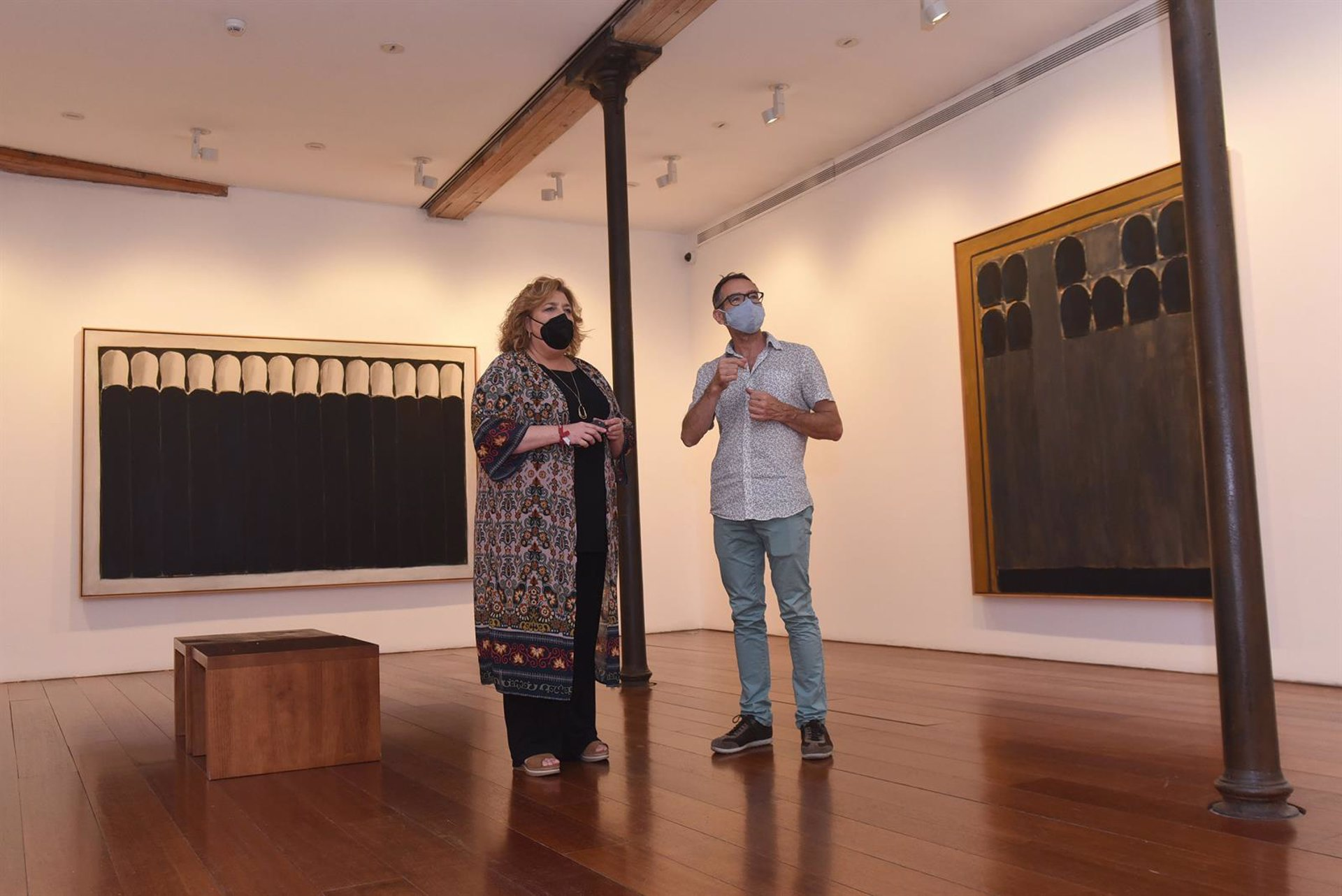 El Centro Guerrero expone una selección de obras de la colección propia del genio granadino