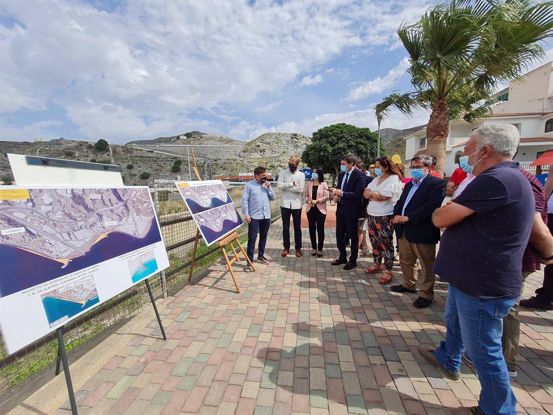 Comienza el acondicionamiento de la fachada marítima de Albuñol, con 2,7 millones de inversión