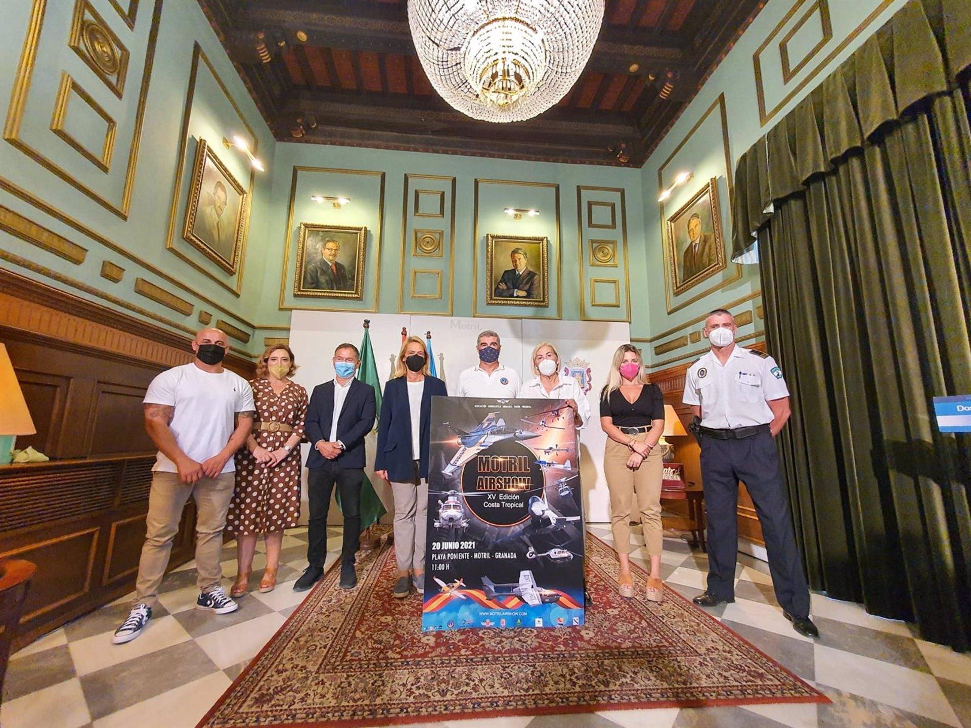 El Festival Aéreo de Motril llega a su 15ª edición tras un año de parón por pandemia