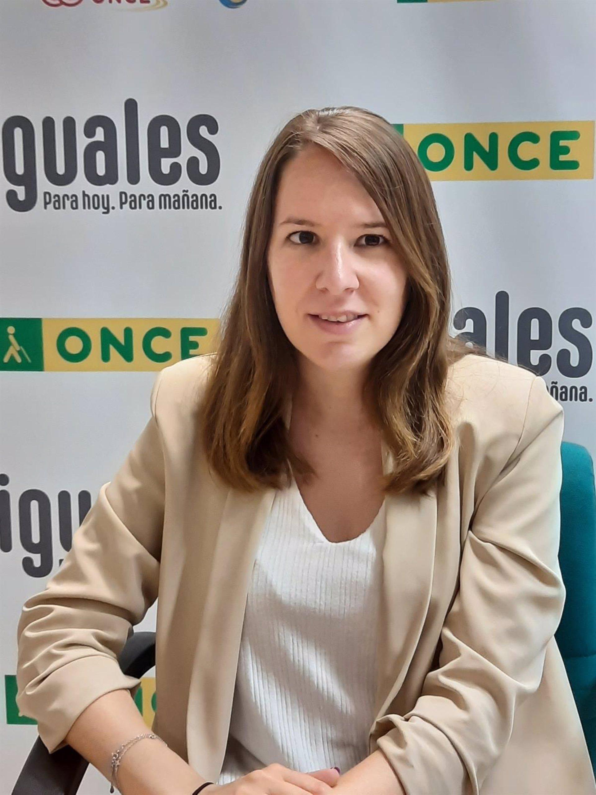 Estela Sánchez, nueva directora de la ONCE en Baza