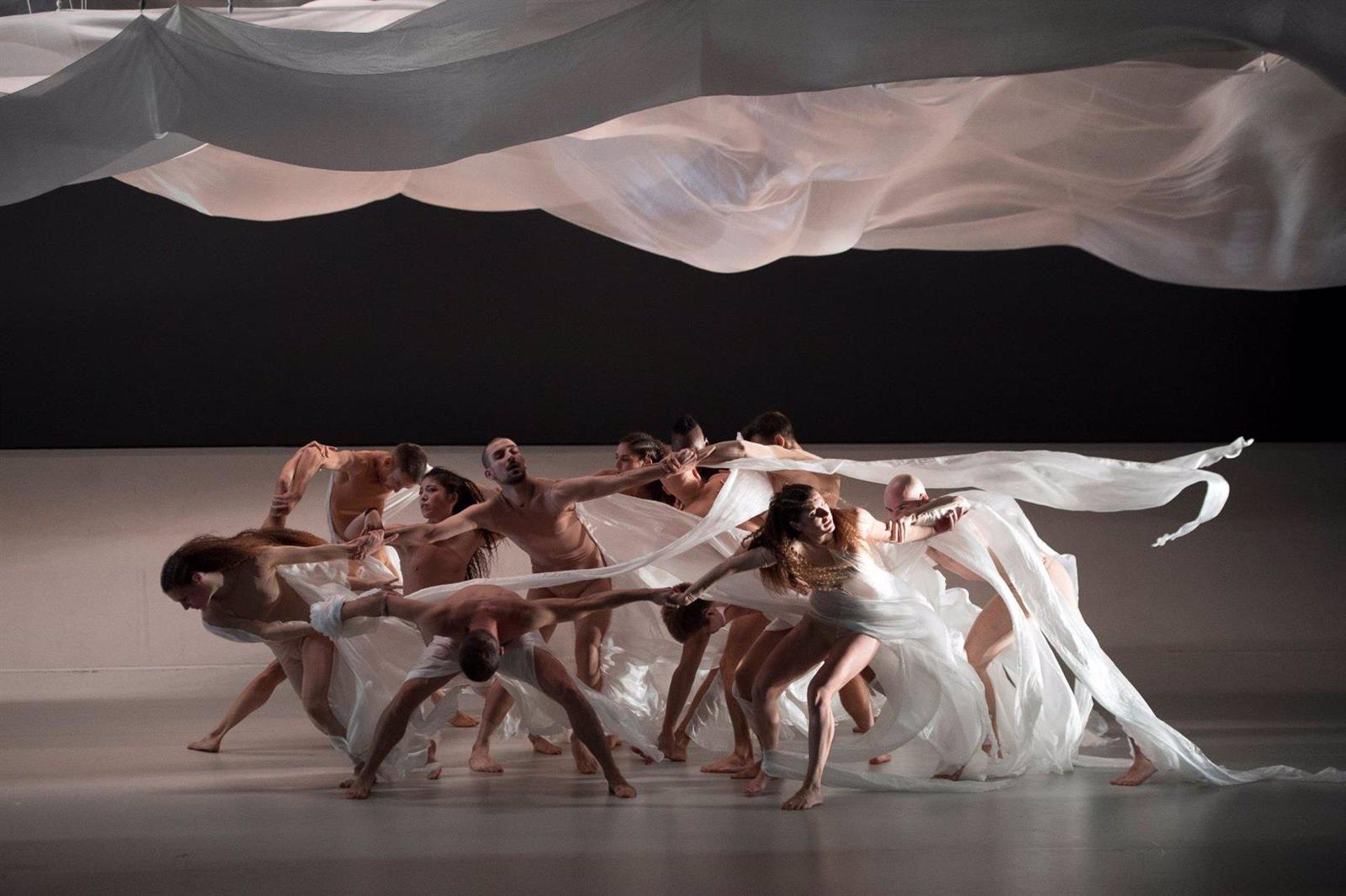 Blanca Li presenta hoy el espectáculo 'Solstice' en el Teatro del Generalife