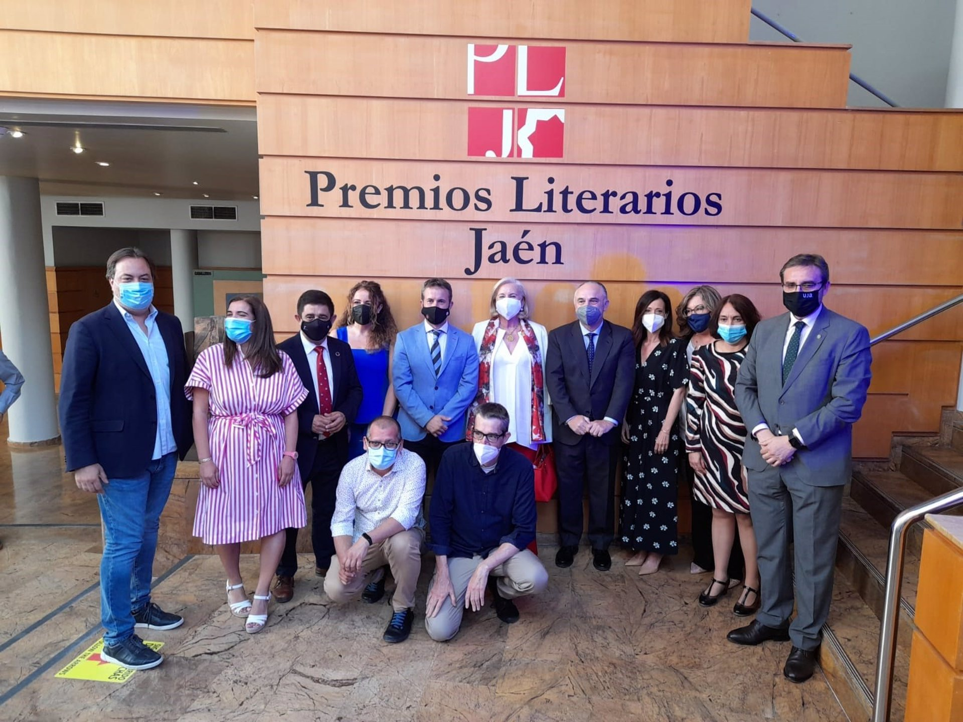 Máximo Pradera, Sandro Luna y Susana Herrero, ganadores de los XXXVI 'Premios Literarios Jaén' de CajaGranada Fundación y CaixaBank