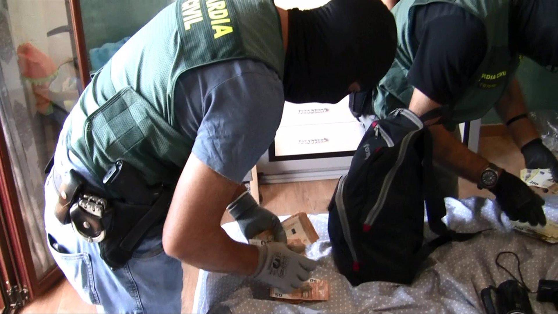 Desarticulada en Huétor Tájar con once detenidos una banda criminal dedicada al tráfico de cocaína