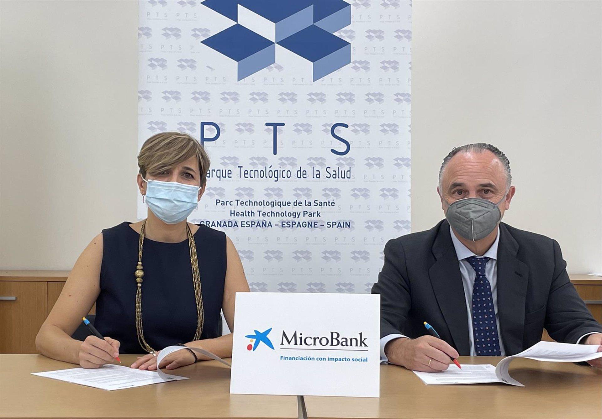 El PTS y MicroBank impulsan la financiación de proyectos empresariales con microcréditos