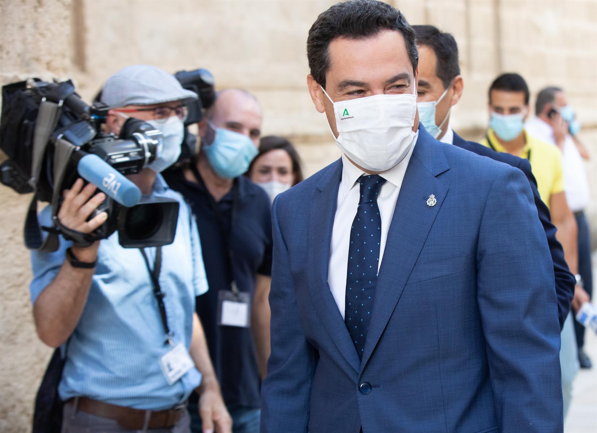 Moreno abre el próximo miércoles en el Parlamento un debate sobre la situación general de Andalucía