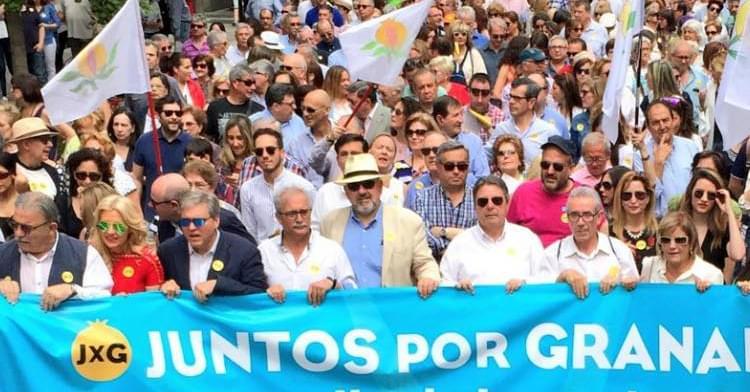 Juntos por Granada convoca concentración para pedir la dimisión del alcalde y un Pleno constitutivo