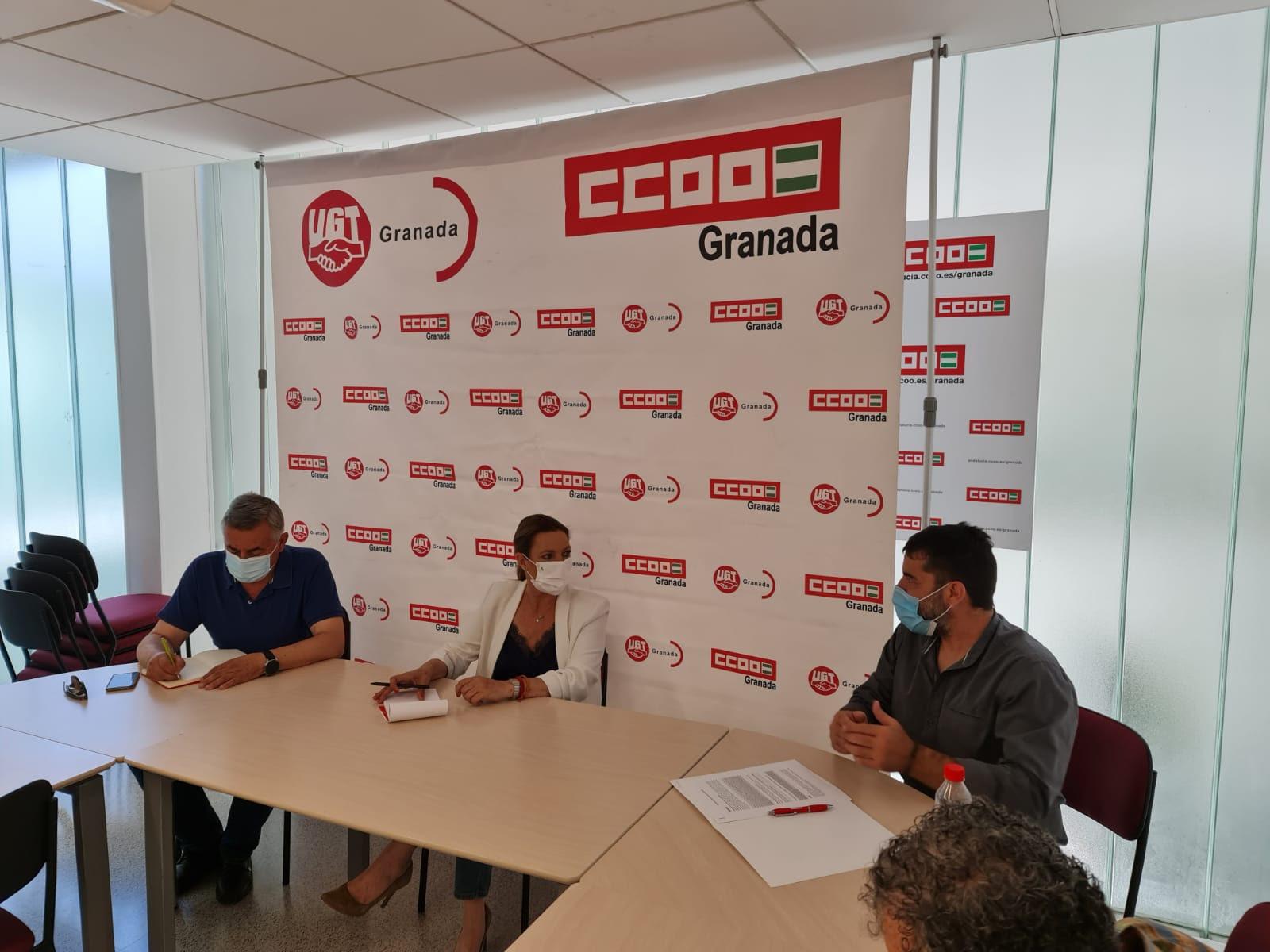 """Ciudadanos se reúne con representantes de CC.OO y UGT en la EASP para escuchar """"activamente"""" sus demandas"""