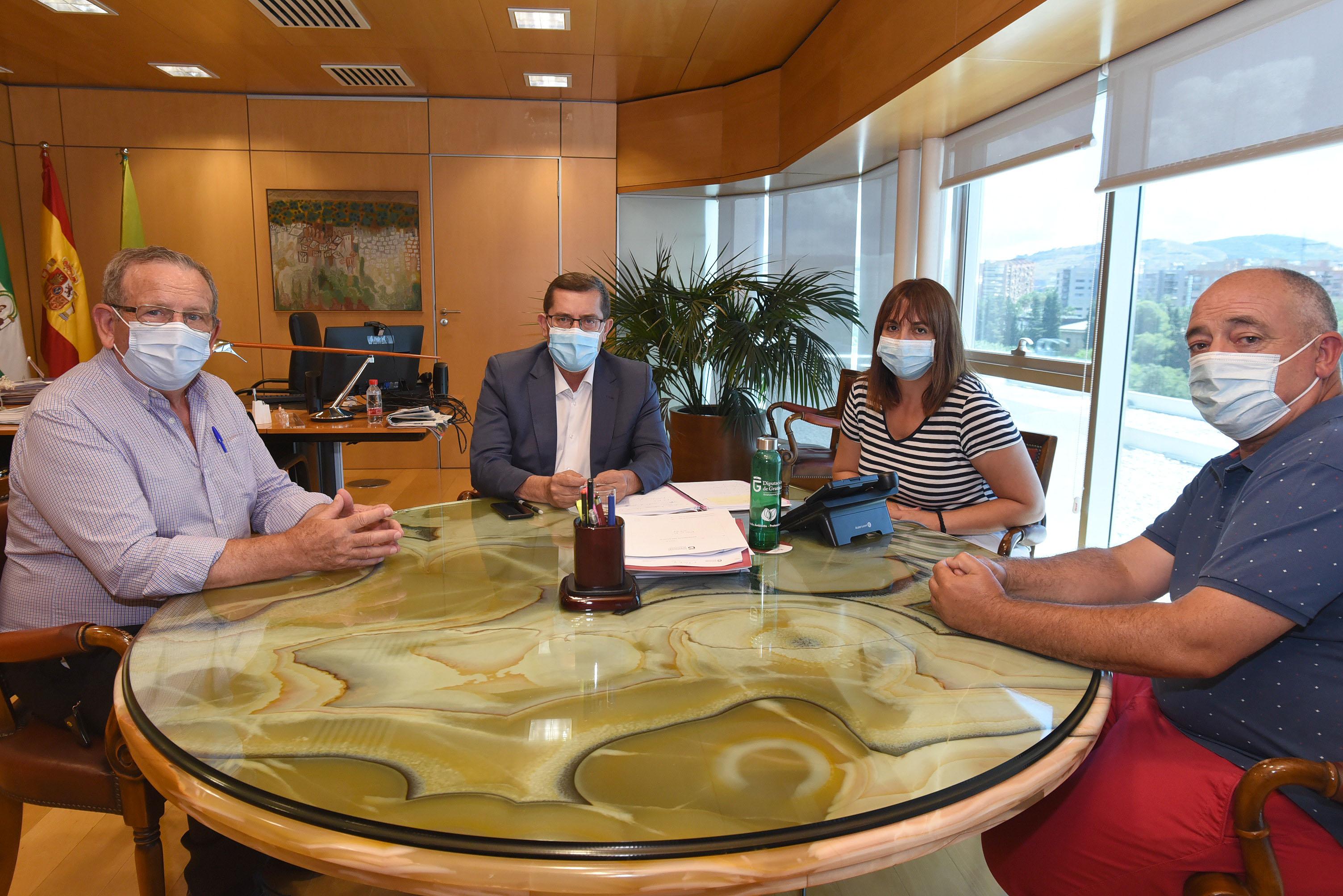 Diputación se reúne con representantes del Banco de Alimentos