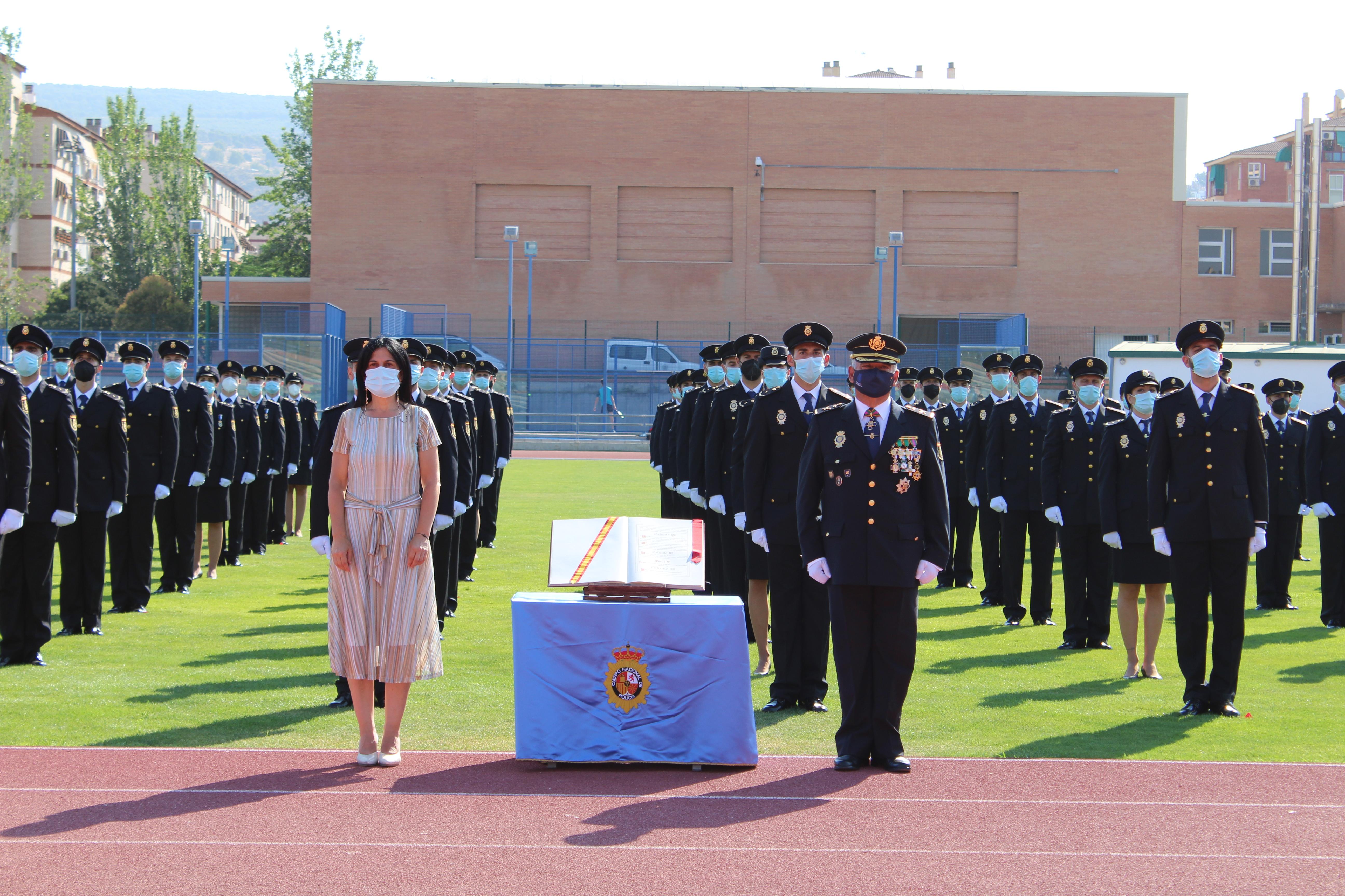Toman posesión del cargo 120 nuevos Policías Nacionales de las provincias de Granada, Almería y Jaén