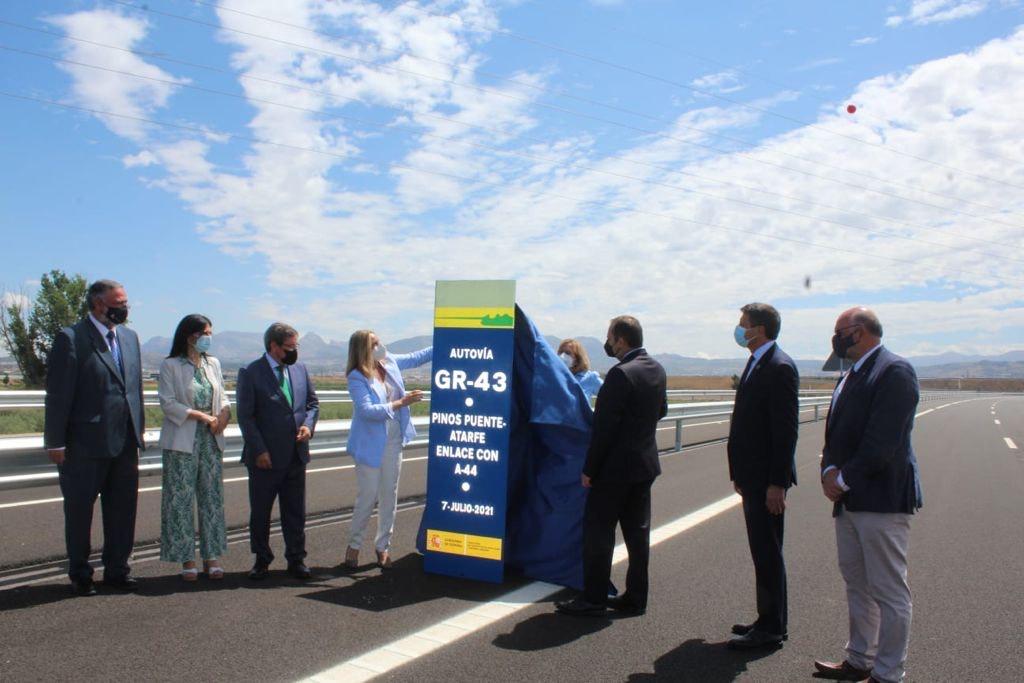 Inauguran el primer tramo de la autovía a Córdoba entre Pinos Puente y Atarfe