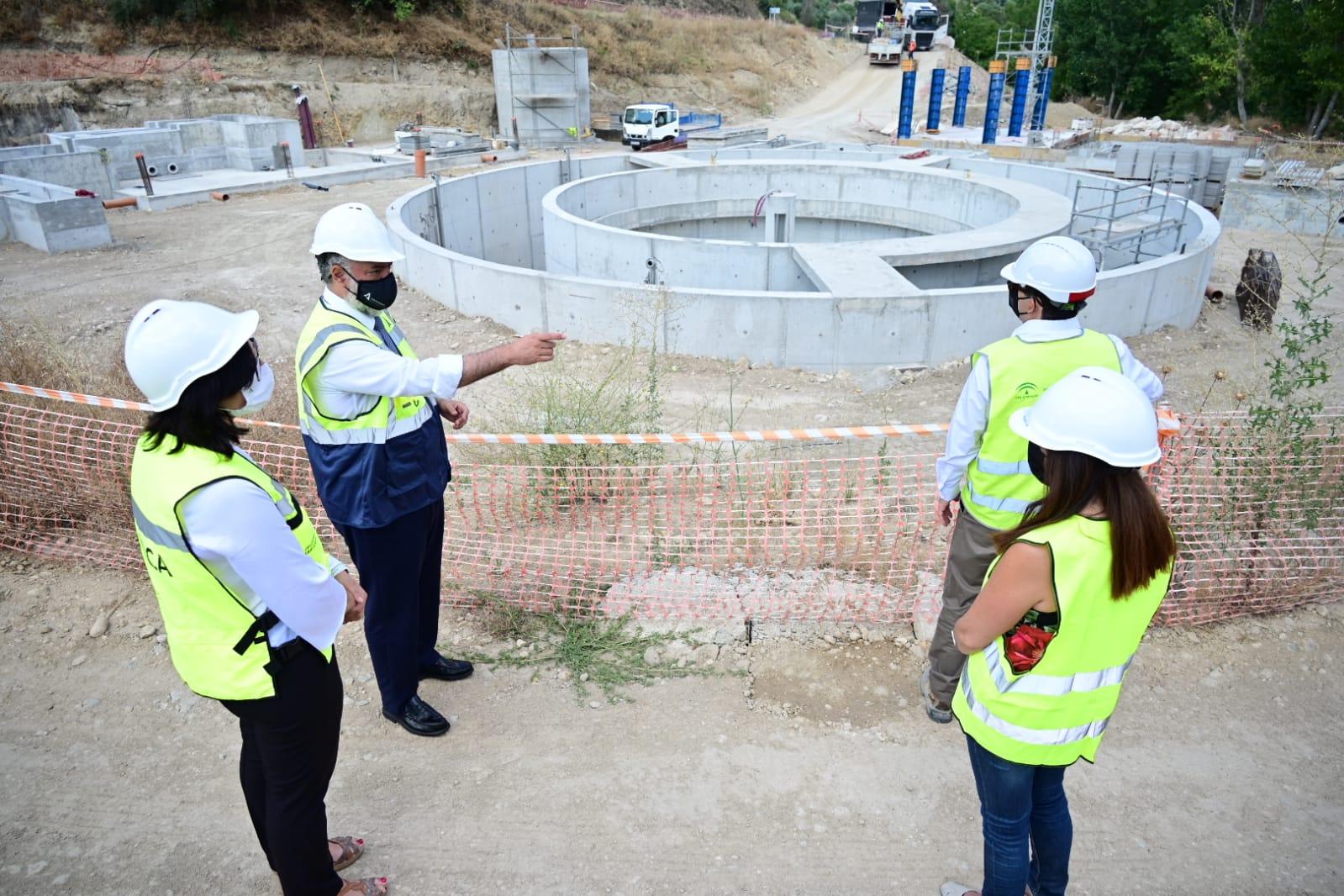 La Junta espera que la EDAR de Montefrío esté terminada en el verano de 2022