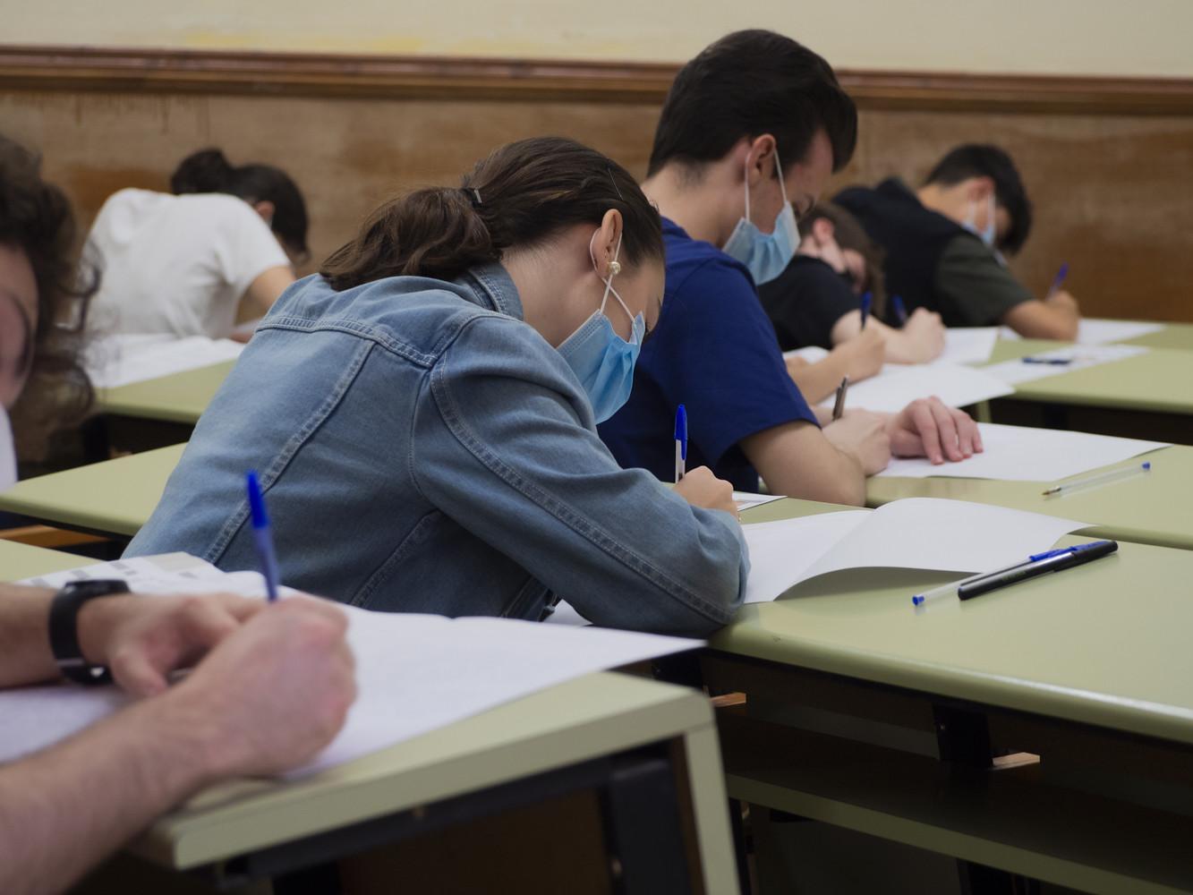 1616 estudiantes se han examinado de la Prueba de Evaluación para el Acceso a la Universidad en la convocatoria extraordinaria