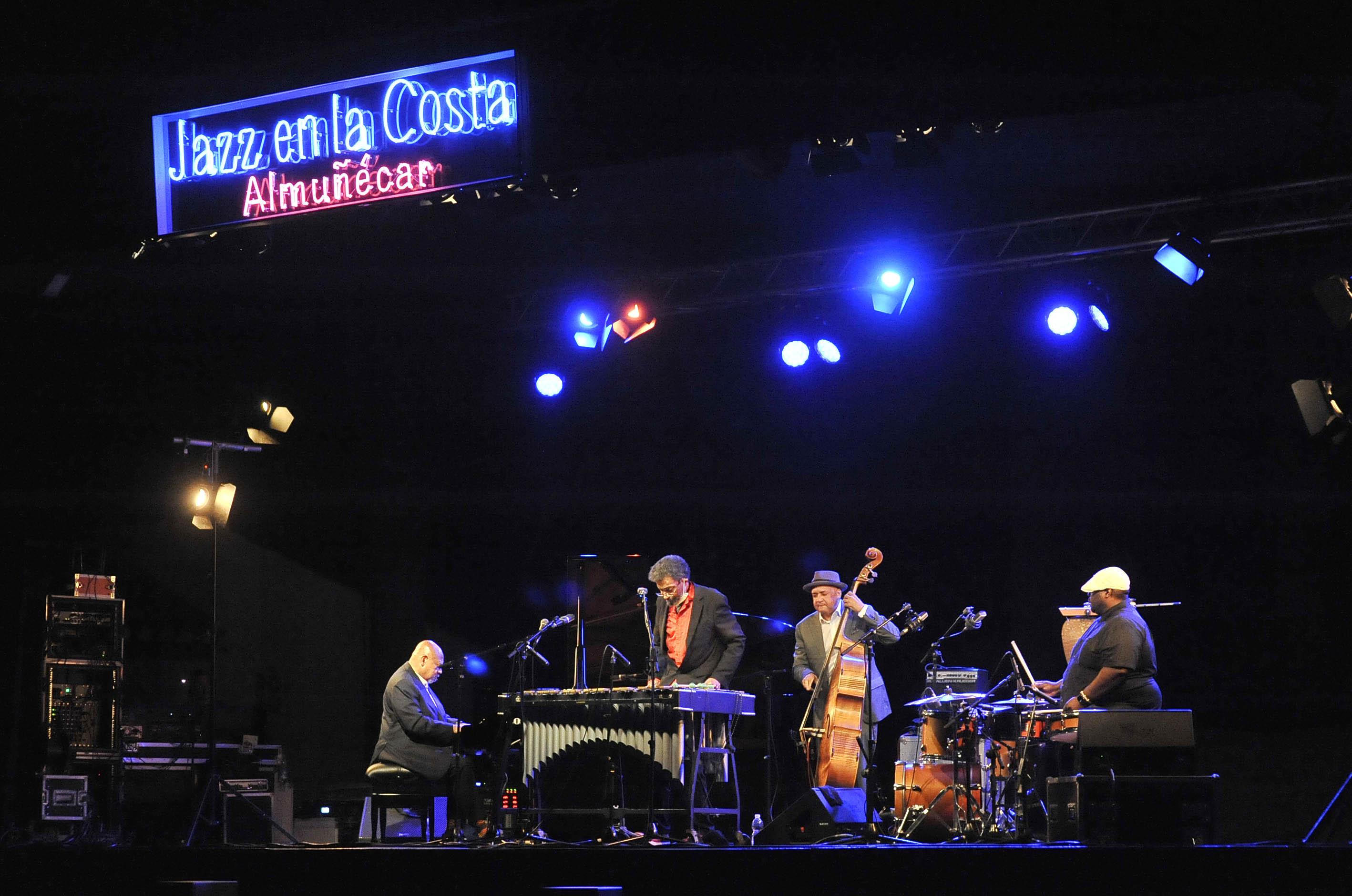 Sabiduría y delicadeza en Jazz en la Costa con Kenny Baroon