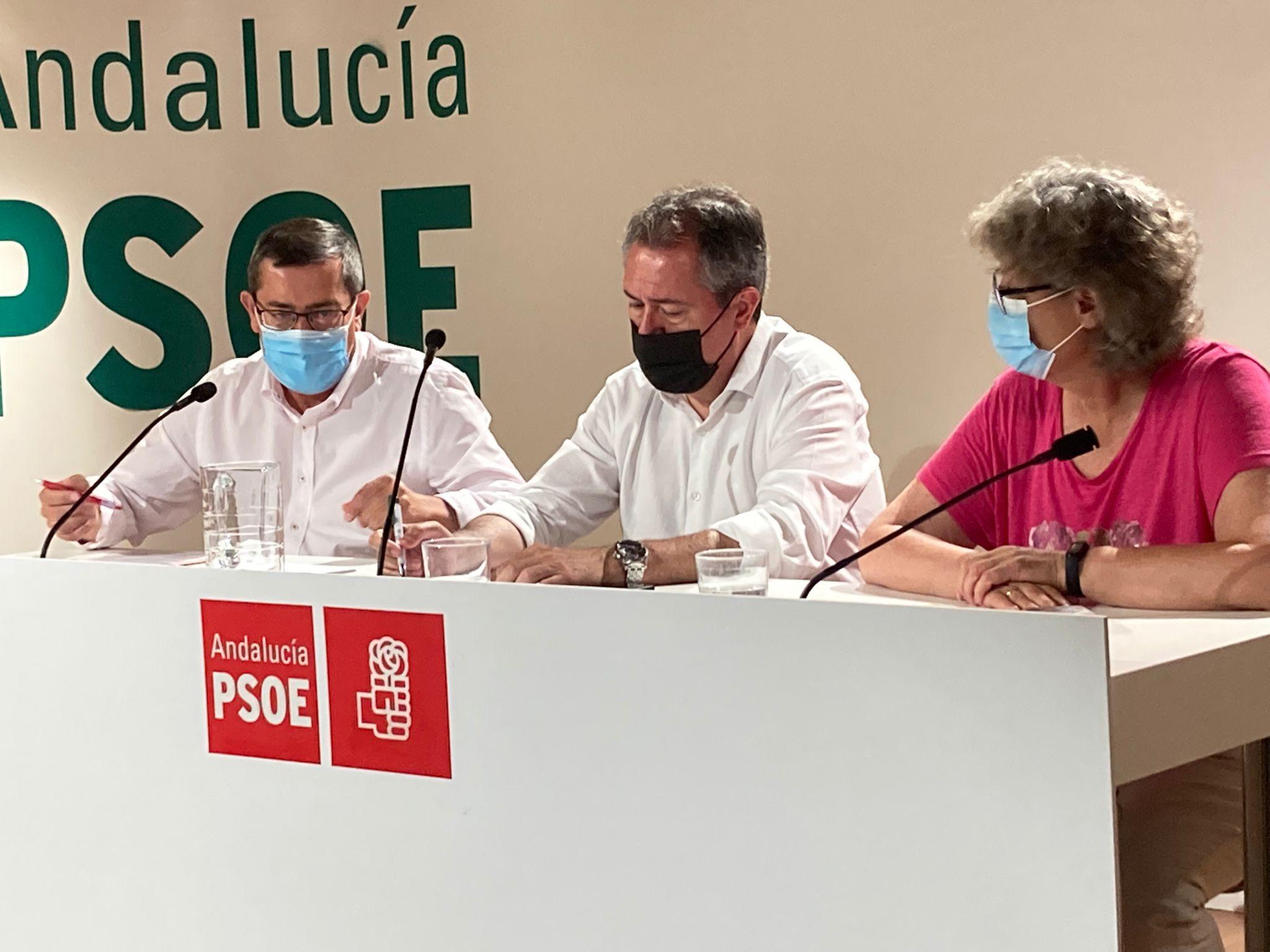 """Juan Espadas califica de """"negativa"""" la evolución de la pandemia y urge al gobierno andaluz a """"tomar medidas y modificar la desescalada planificada"""" tras escuchar al Comité de Expertos"""