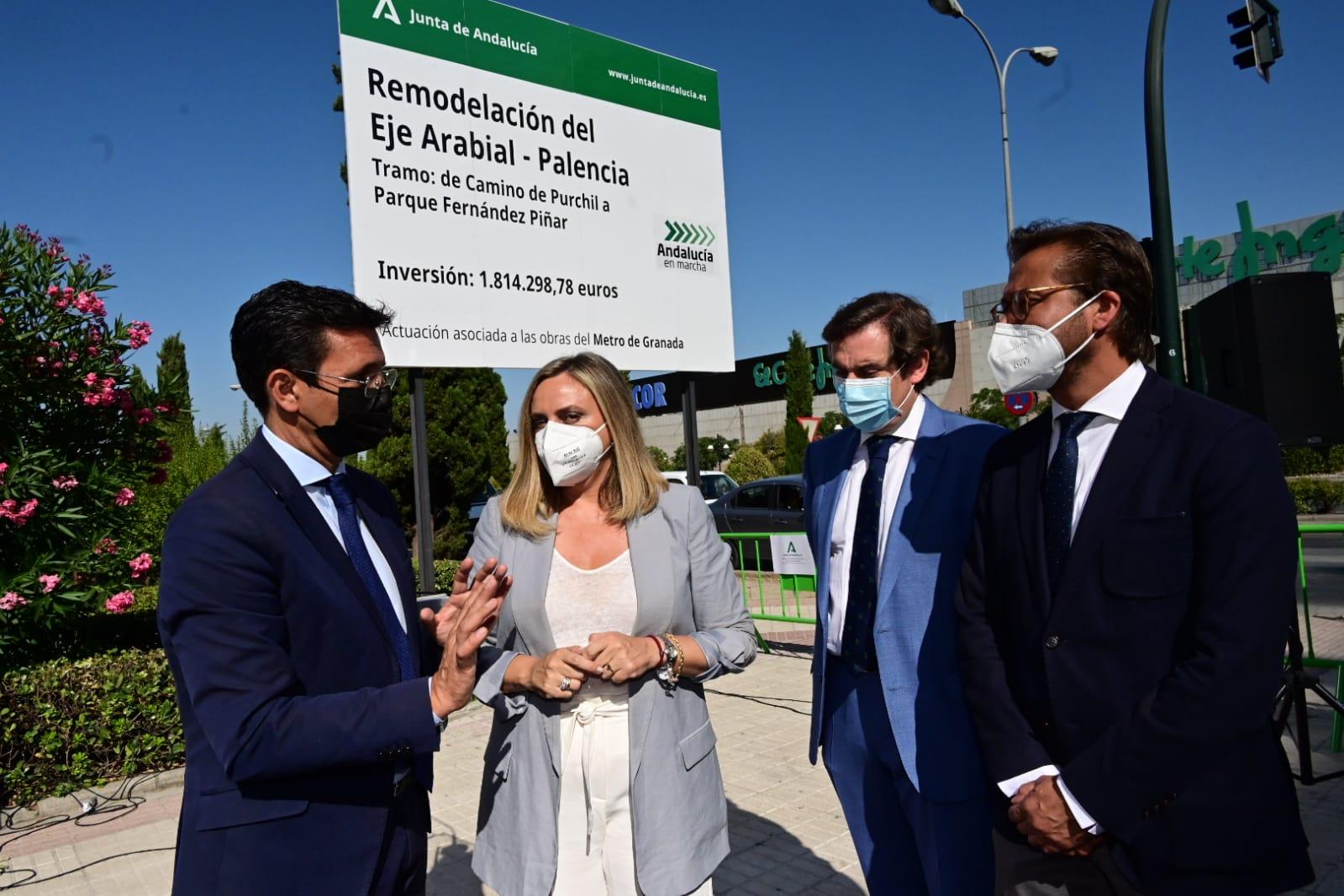 Las obras del nuevo tramo de Arabial-Palencia se inician mañana con una inversión de 1,8 millones
