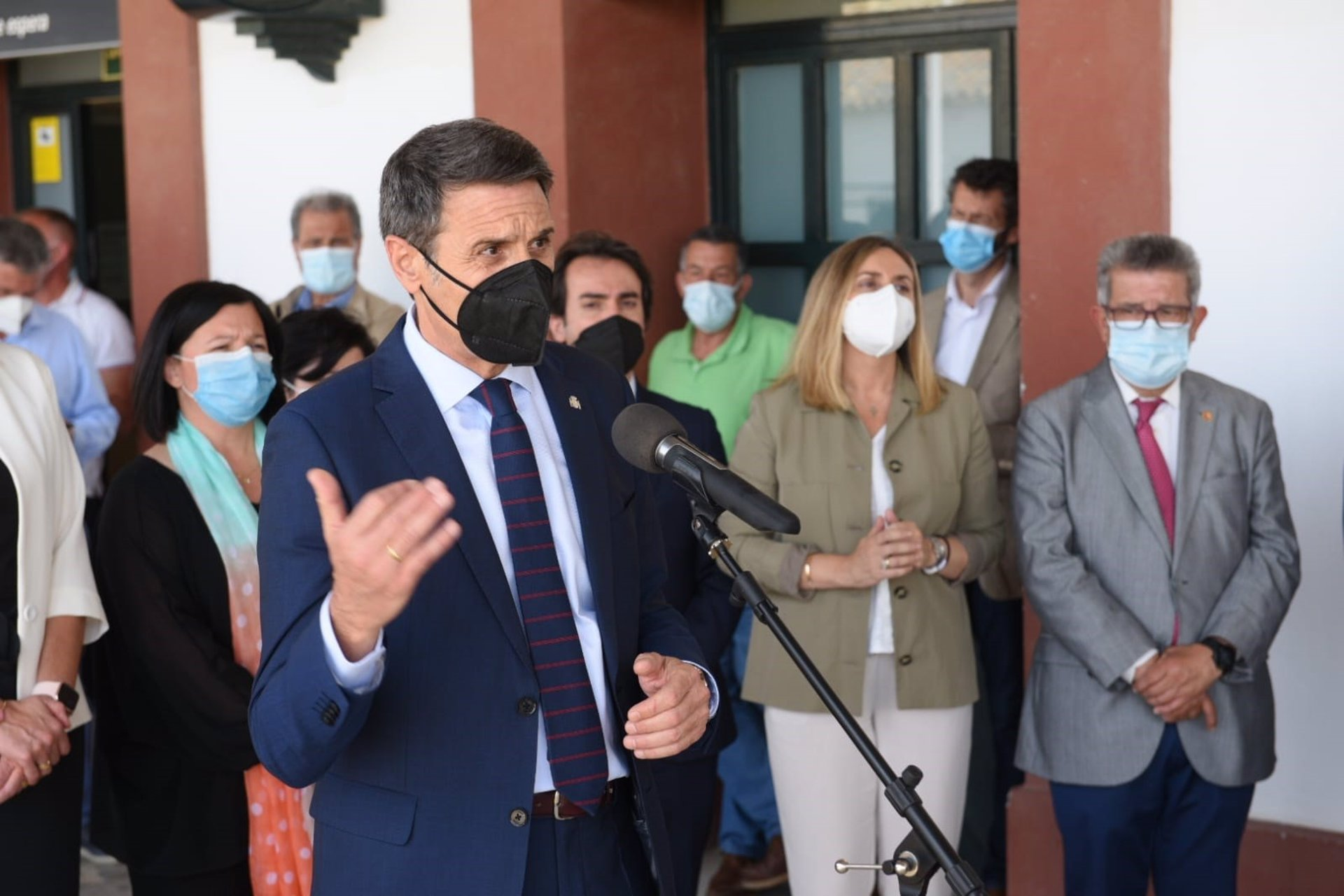Pedro Fernández destaca «la celeridad del Gobierno en hacer realidad» la línea férrea Guadix-Baza