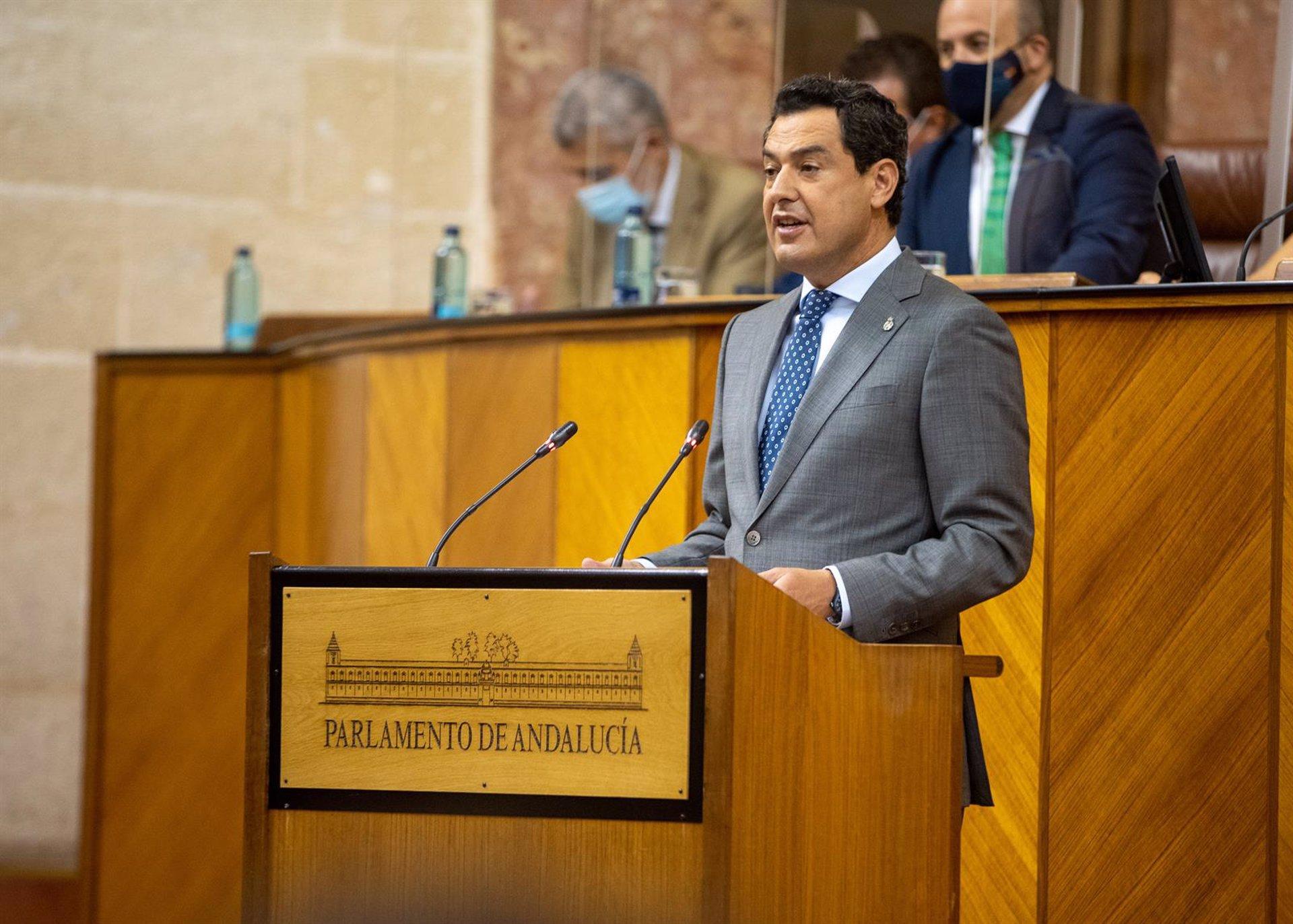 Moreno afirma que lo ocurrido en Granada es un «ejemplo nada edificante»