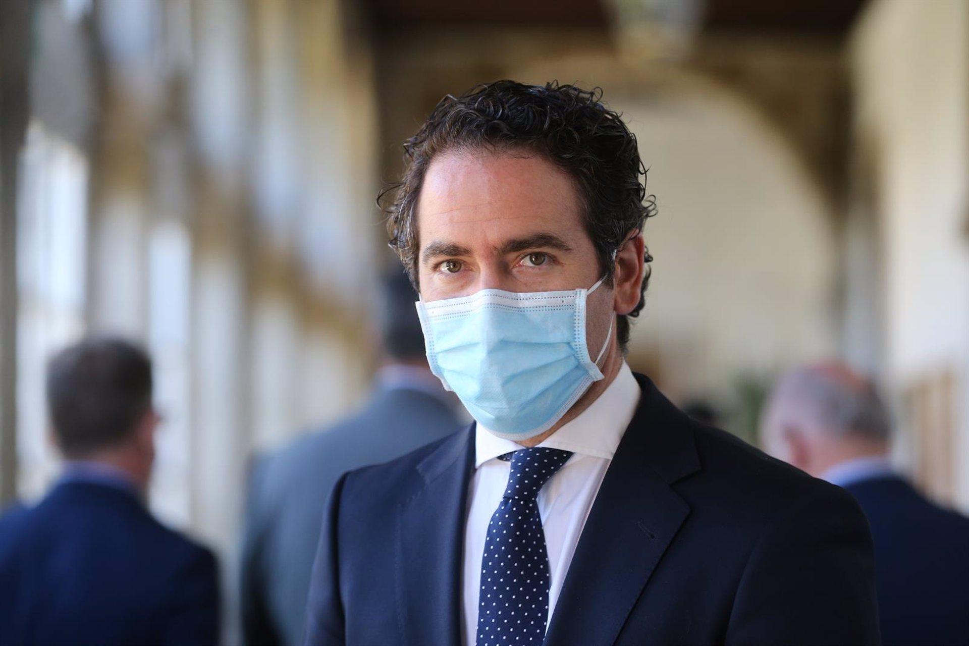 García Egea critica que Granada tenga un alcalde del PSOE «procesado por corrupción con apoyo de Podemos y Cs»