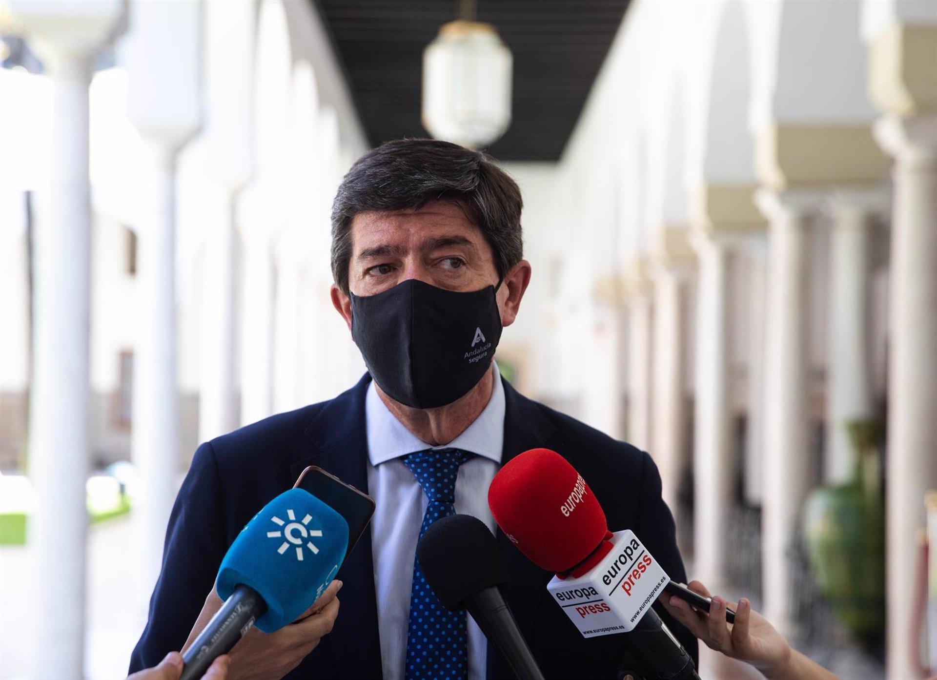 Marín afirma que Salvador «ha hecho lo que debía» al renunciar y que «no vamos a apoyar al candidato del PSOE»