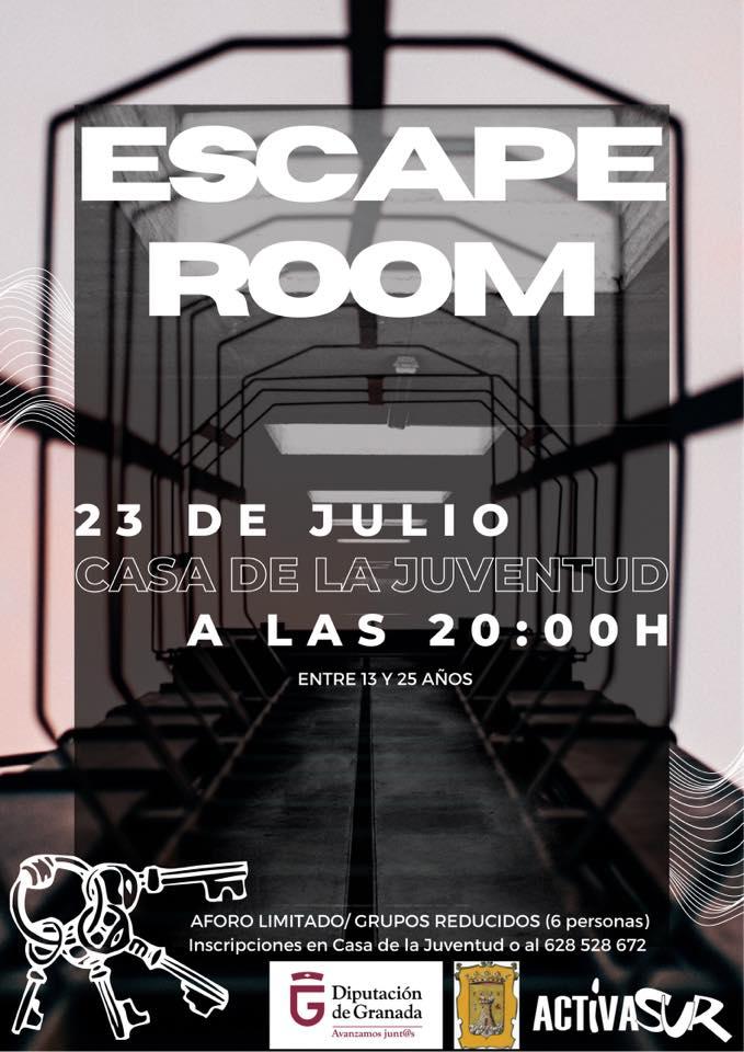 Montefrío organiza un 'escape room' para sus jóvenes como alternativa de ocio saludable