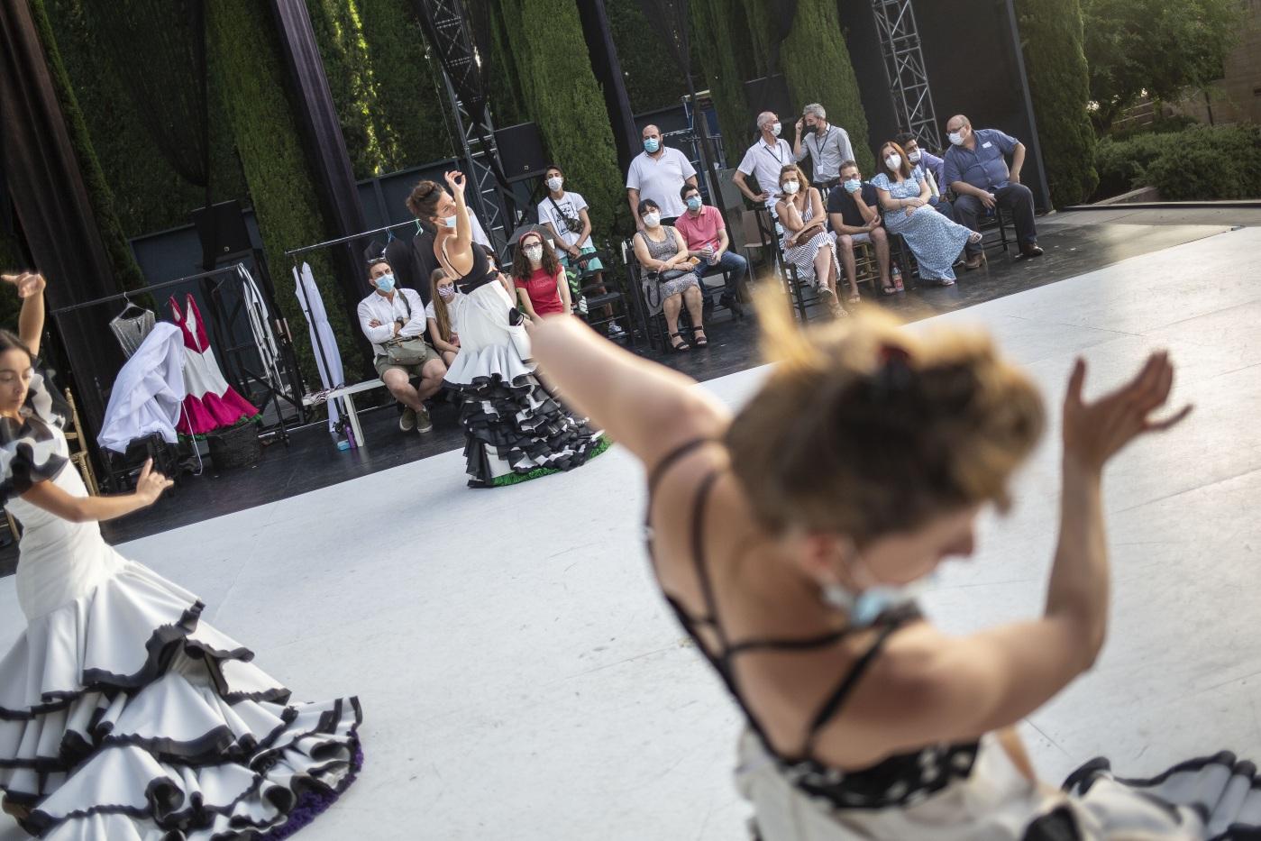 Lorca y Granada y el Ballet Flamenco se acercan a colectivos en riesgo con encuentros los sábados y miércoles antes de la representación