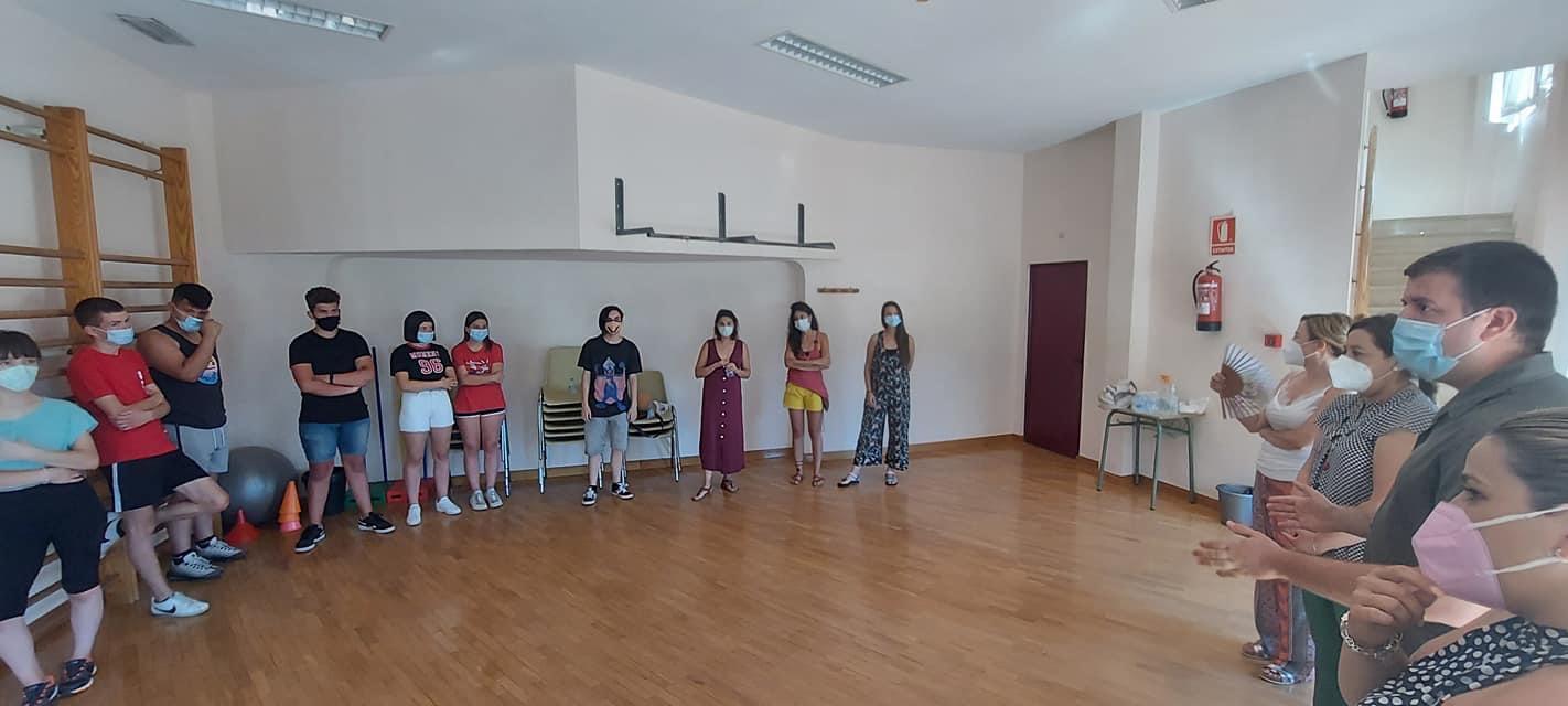 Jóvenes de Monachil y Huétor Vega participan en un encuentro con juegos y gymkhana