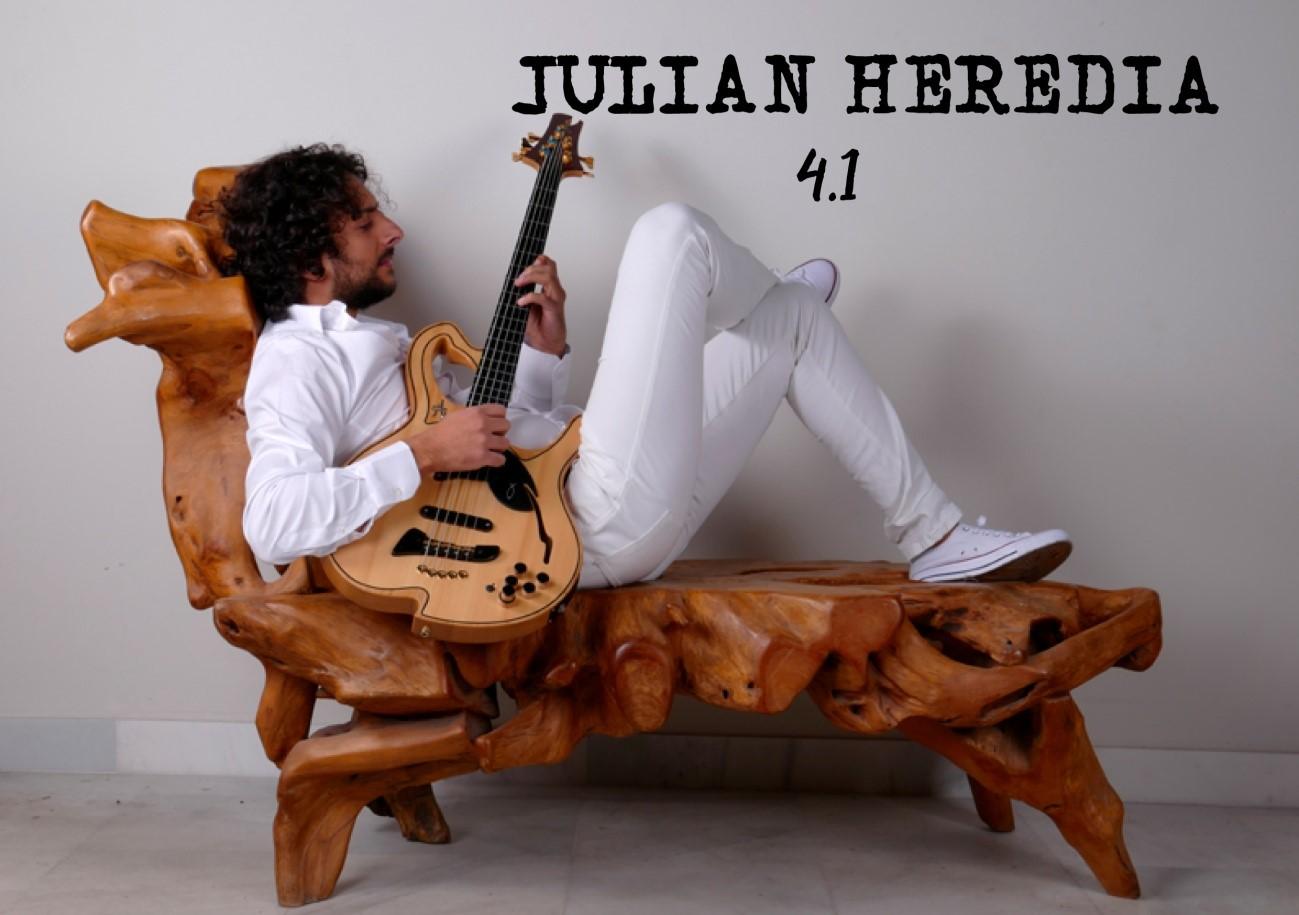 Julián Heredia estará el jueves en la Plaza de las Culturas de Cajagranada