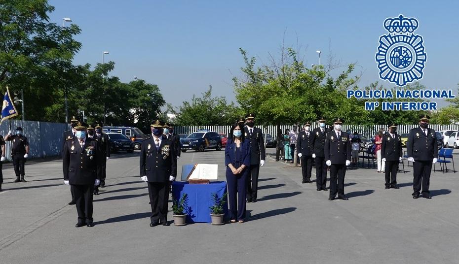 La Policía Nacional celebra el acto de jura del cargo de agentes ascendidos a Subinspectores