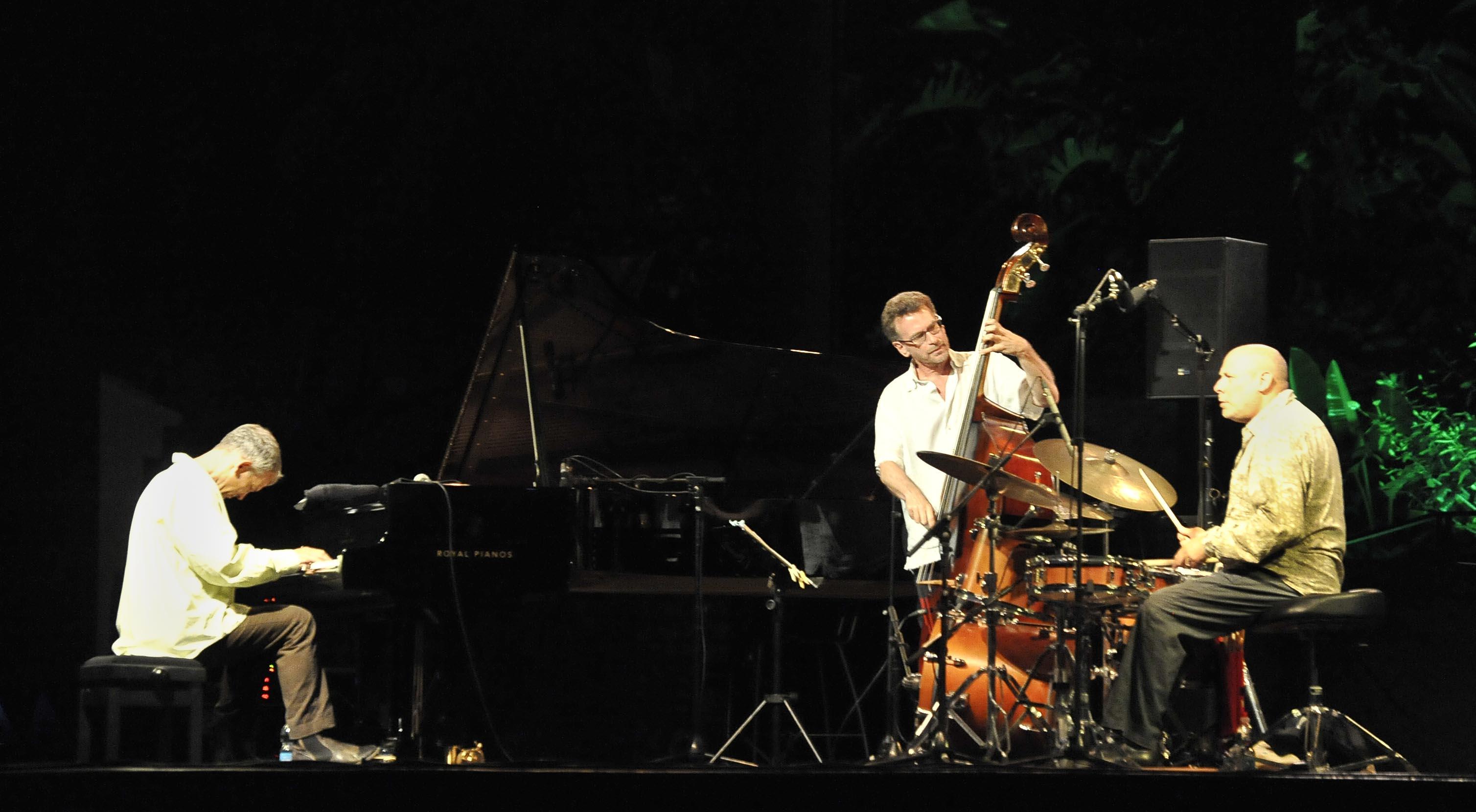 Brad Mehldau trío: Una estrella brilló en Almuñécar