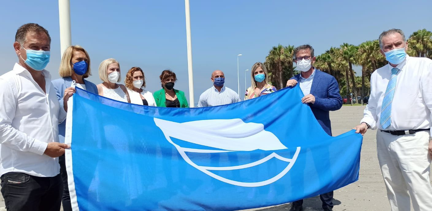 Turismo pone en valor la calidad de la costa granadina en la entrega de las Banderas Azules a Motril y Carchuna-Calahonda