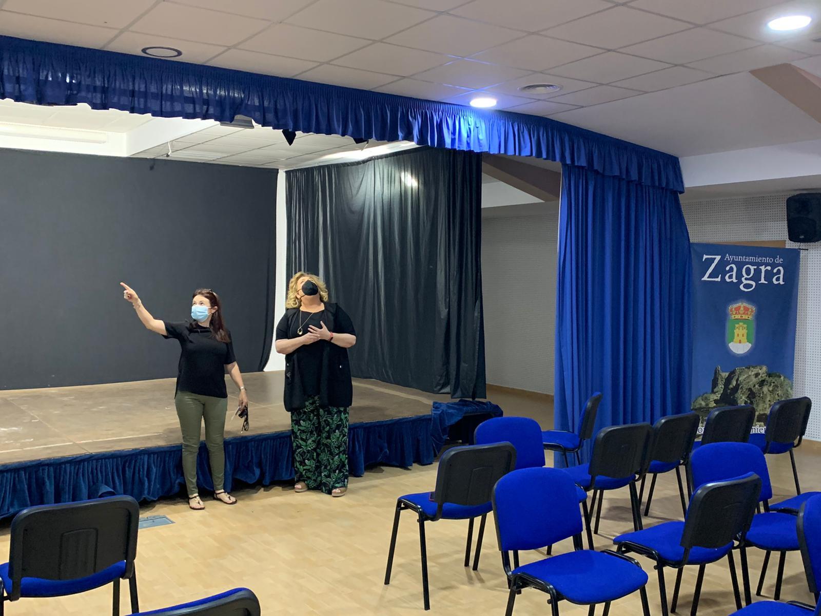 Diputación invierte en la mejora las instalaciones culturales de Zagra