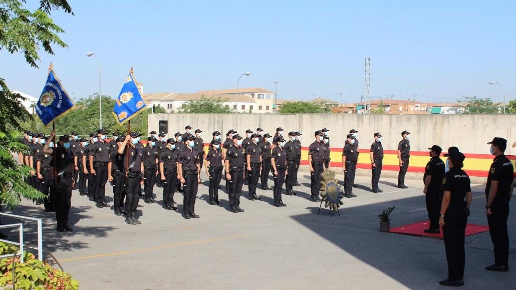 La Policía Nacional incrementa su plantilla en Granada y Motril con 57 policías-alumnos en prácticas para completar su formación