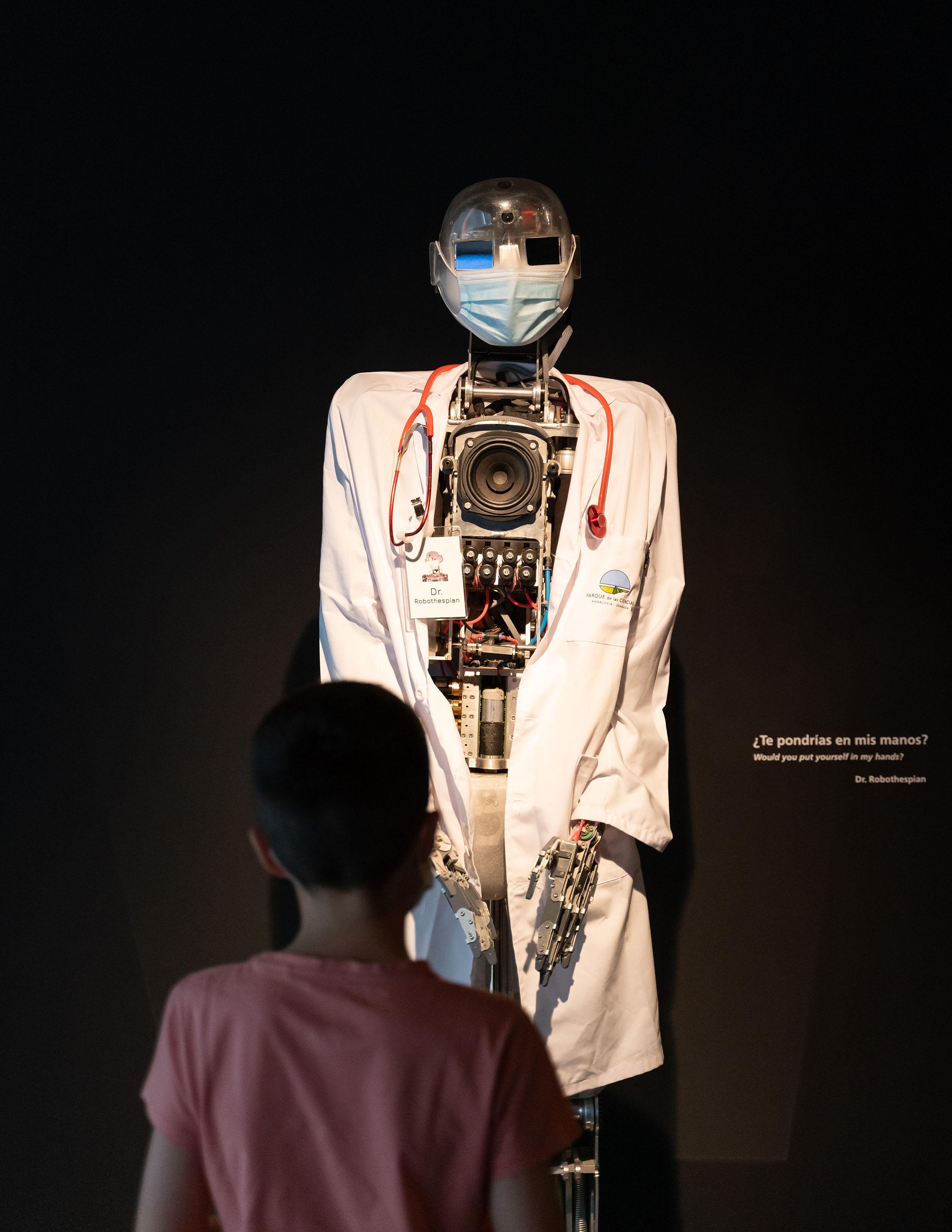 La exposición 'Robots 2.0 ¿Todo controlado?' protagoniza la campaña de verano del Parque de las Ciencias