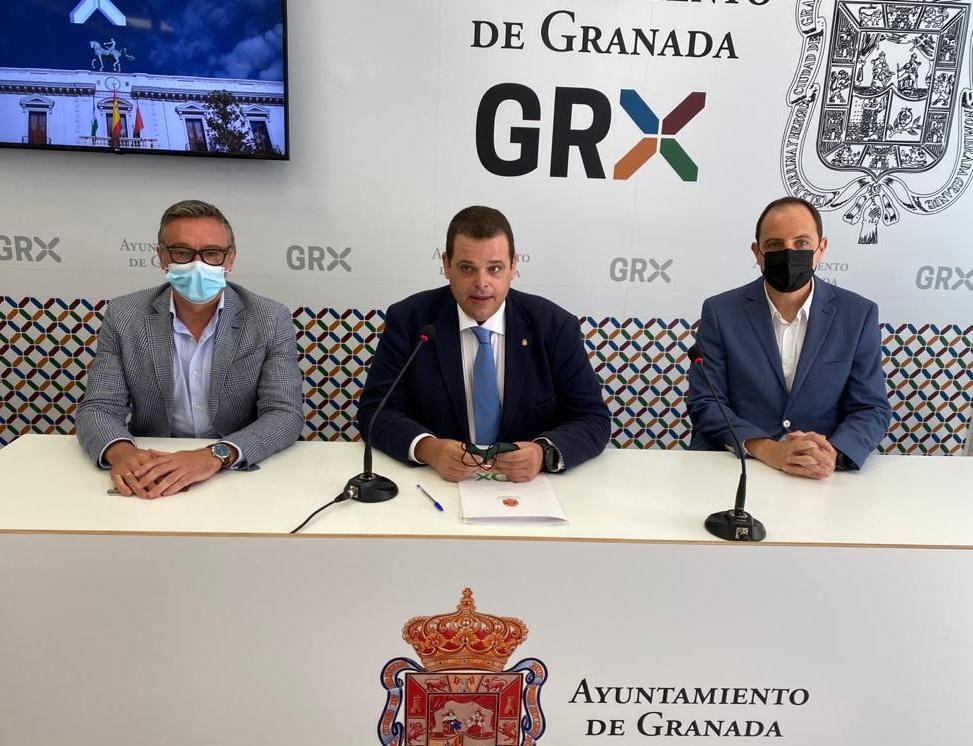 VOX se ofrece como alternativa al PP y Ciudadanos para garantizar la estabilidad en el Ayuntamiento de Granada