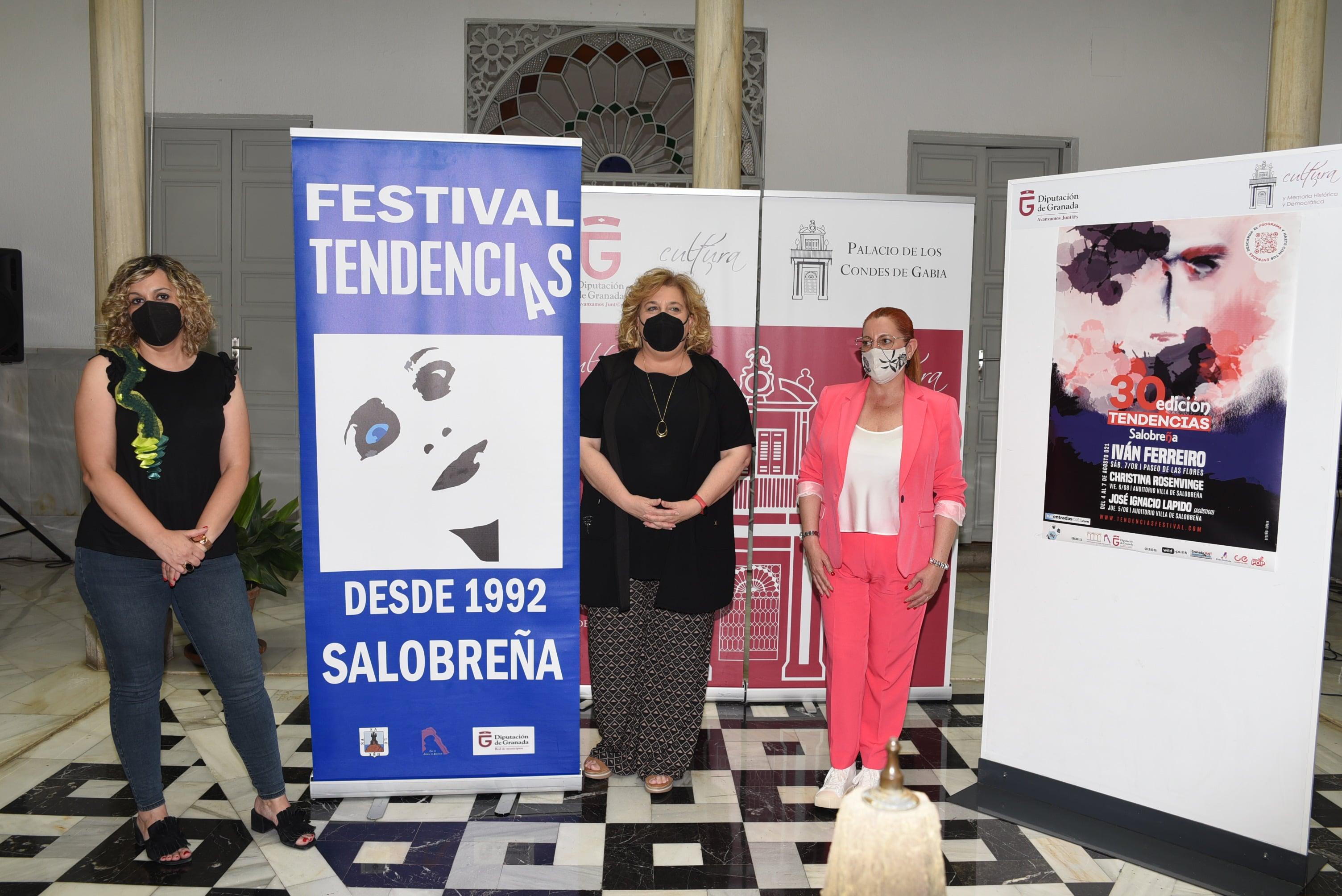 Iván Ferreiro encabeza el cartel del festival Tendencias de Salobreña