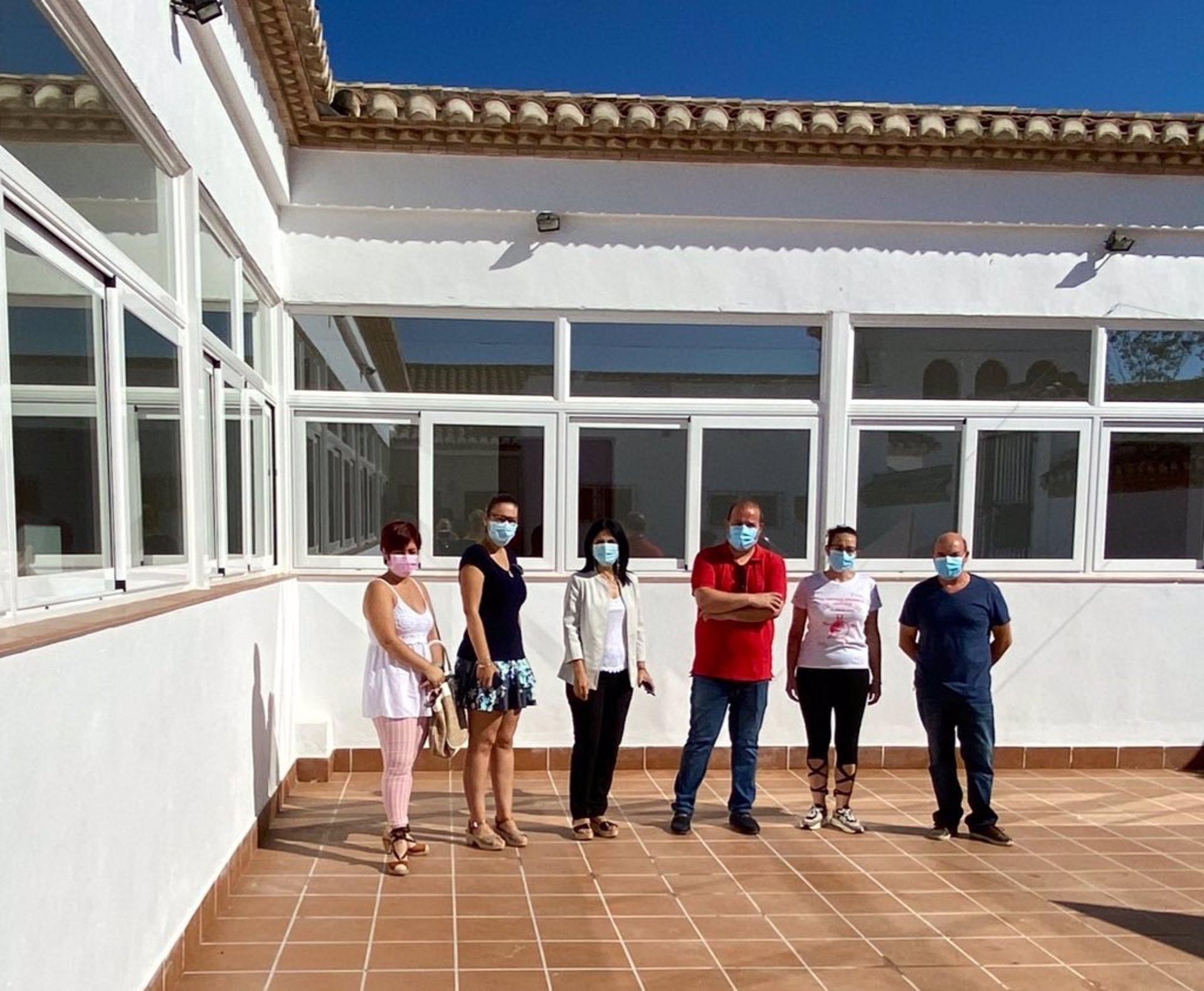Villanueva Mesía mejora las instalaciones de su albergue rural con una inversión del PFEA