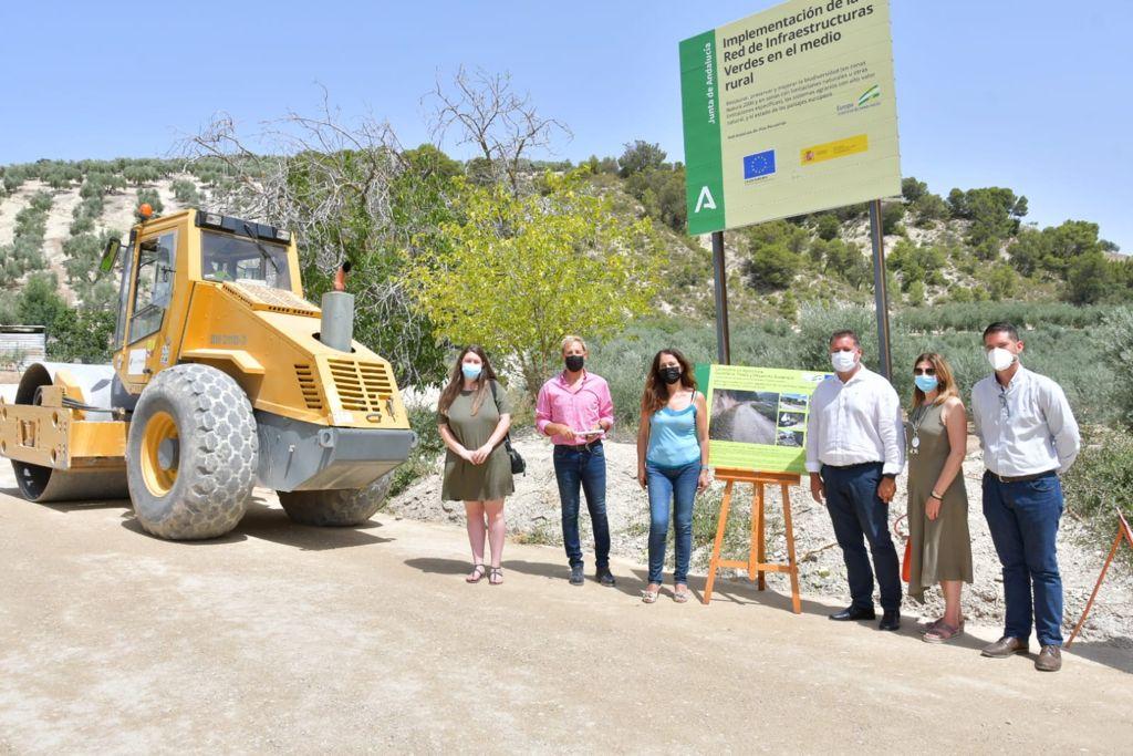Acondicionada la vía pecuaria «Vereda de la Fuente de la Hoya» en Montefrío como infraestructura de uso agrario