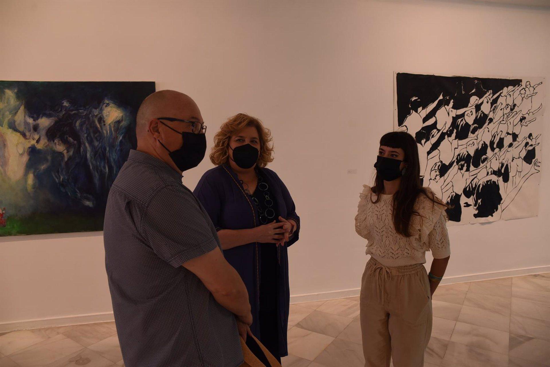 Condes de Gabia acoge 'Identidad en la sala', una exposición de los alumnos de Bellas Artes