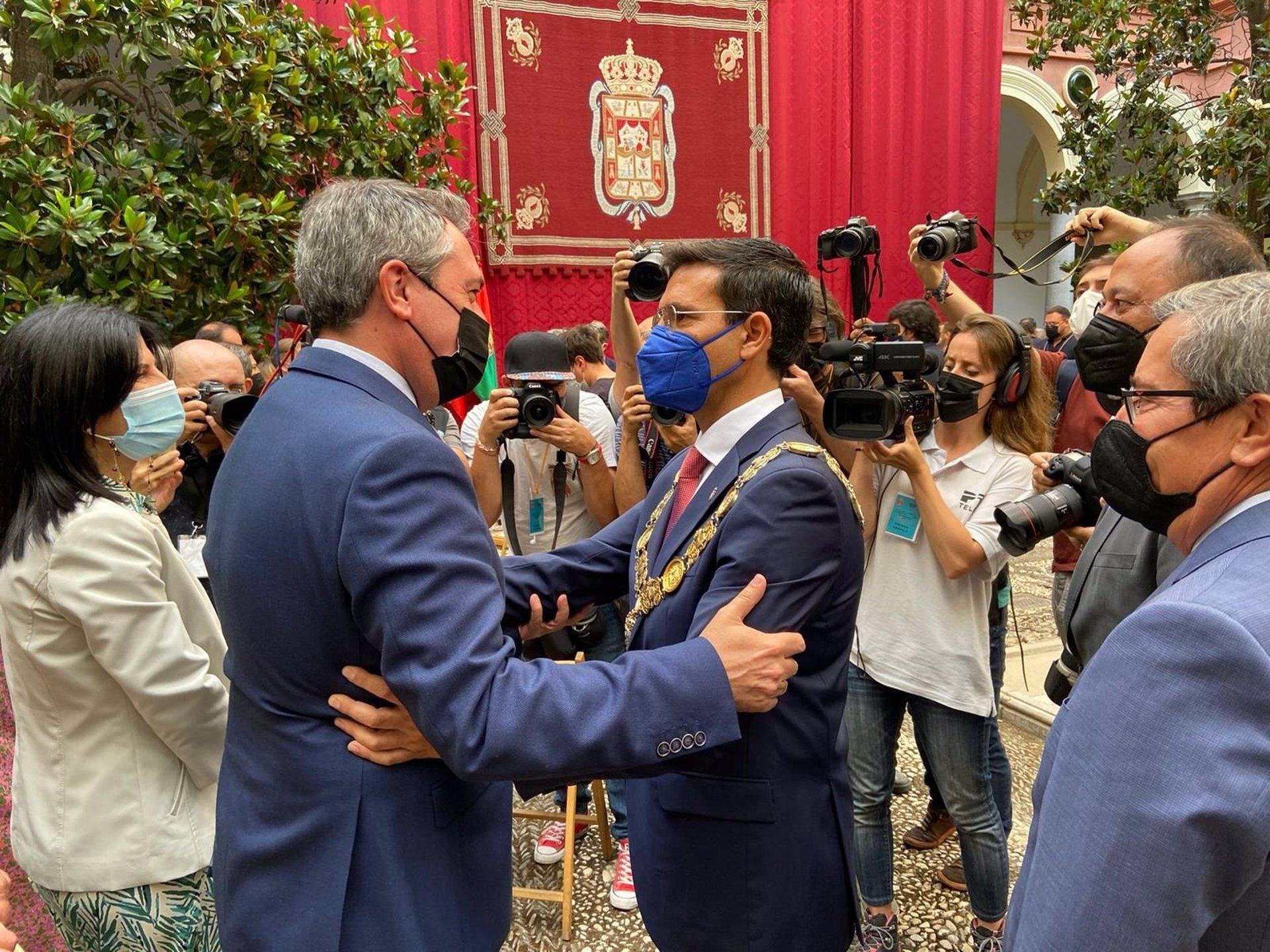 Espadas celebra que «se recompone la lista más votada» y agradece a Salvador que tome «la decisión coherente»