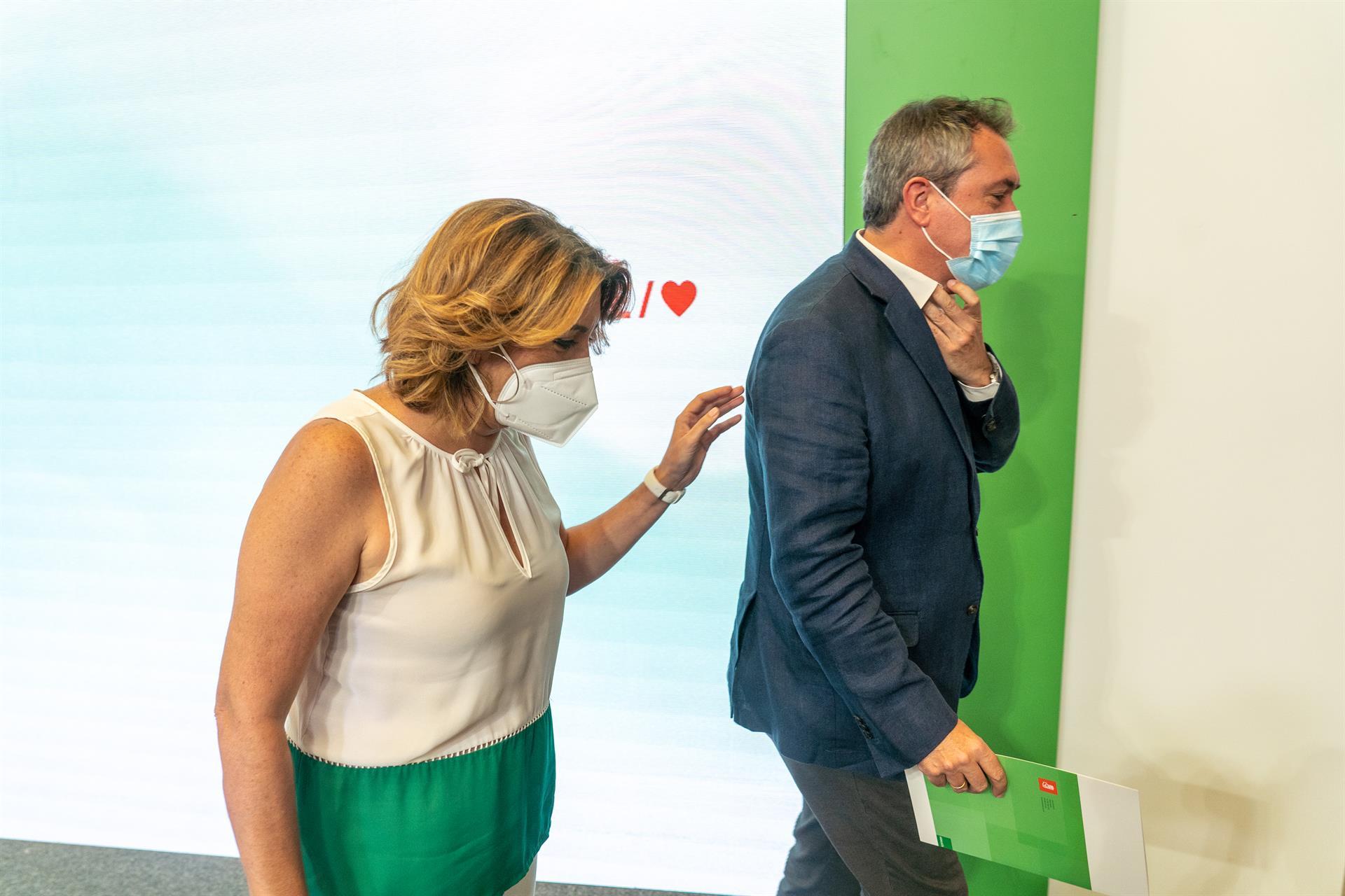 Espadas ofrece a Susana Díaz ser senadora autonómica con «responsabilidad especial» y espera su decisión «sin presionar»