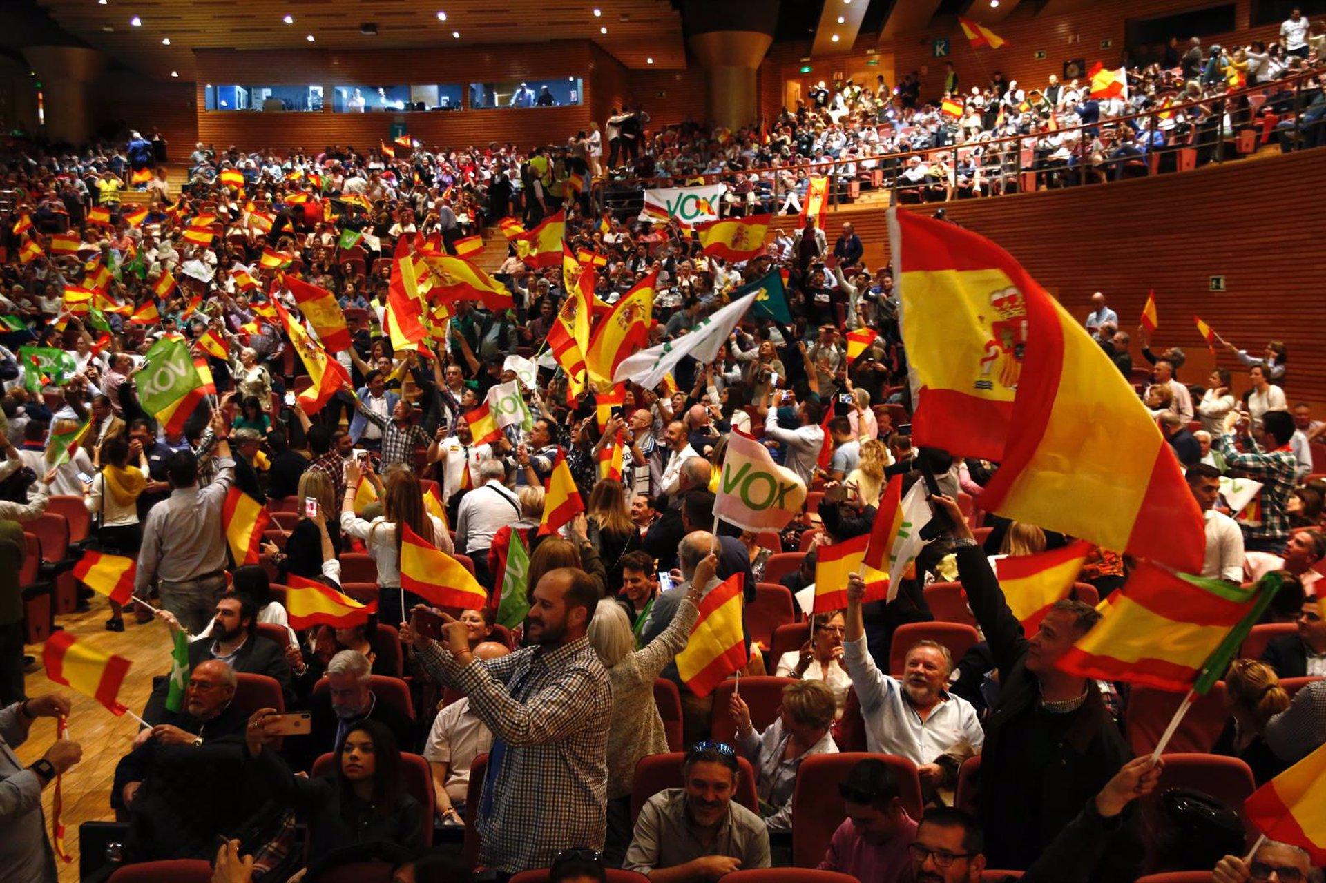 El Juzgado hace efectiva la suspensión de los resultados de las primarias de Vox en Granada